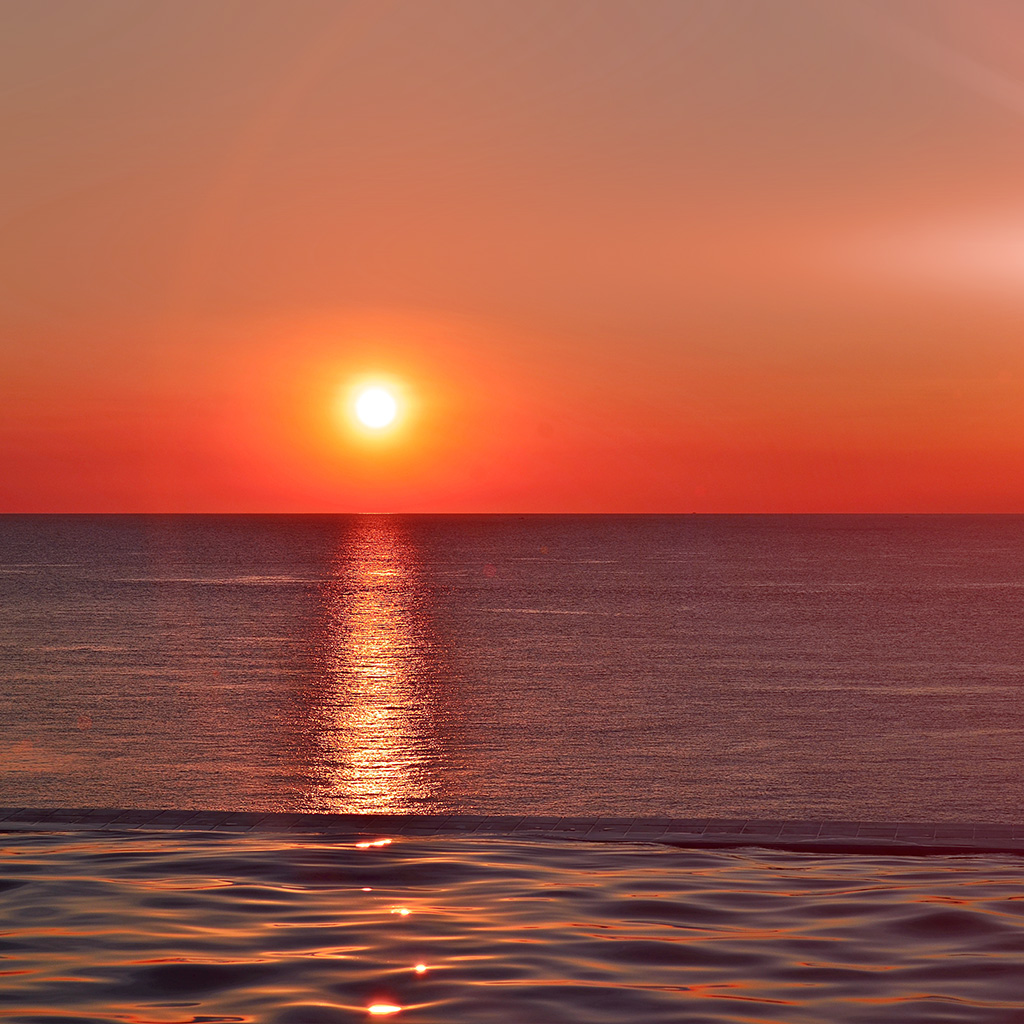 wallpaper-nq97-sunset-sea-sky-nature-red-flare-wallpaper