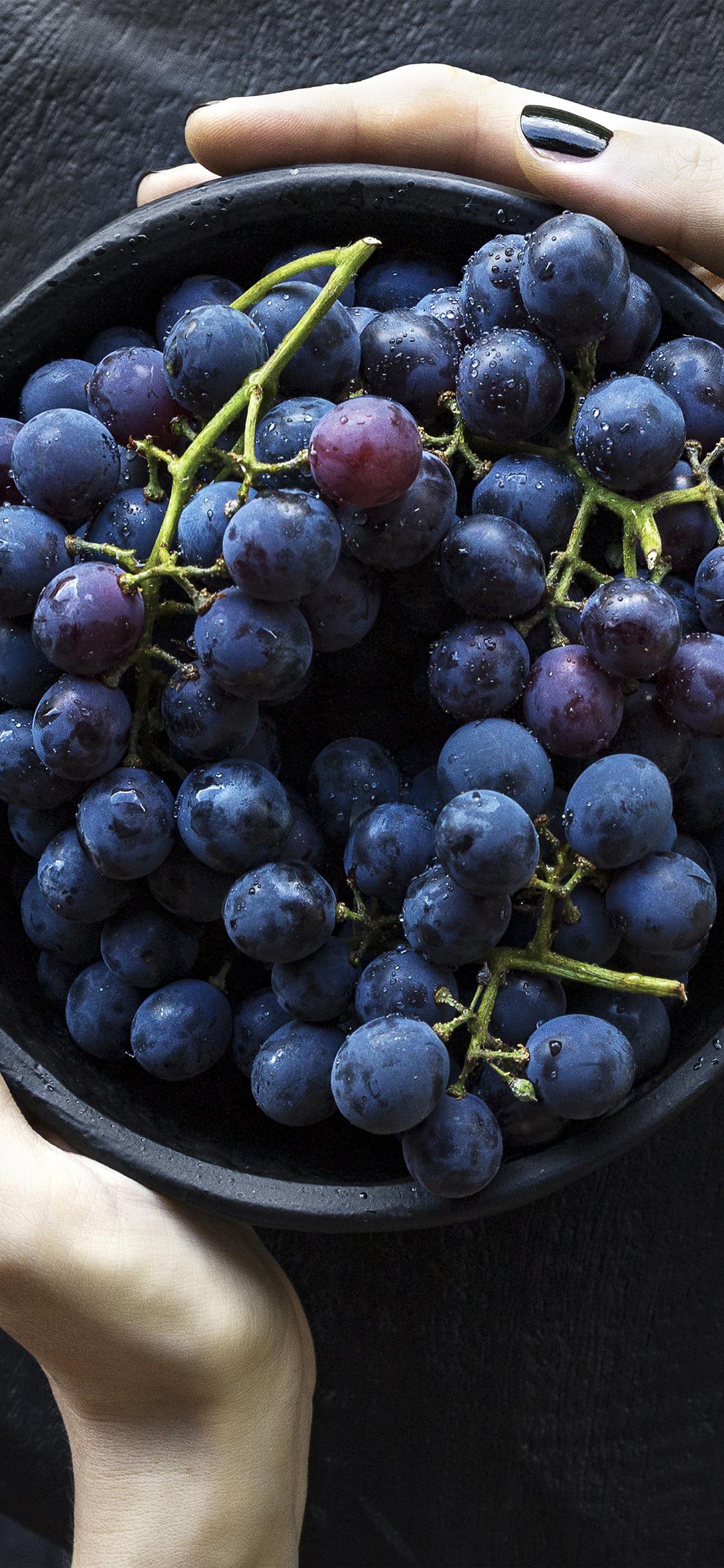 iPhoneXpapers.com-Apple-iPhone-wallpaper-nr22-grape-fruit-summer-eat-food-nature