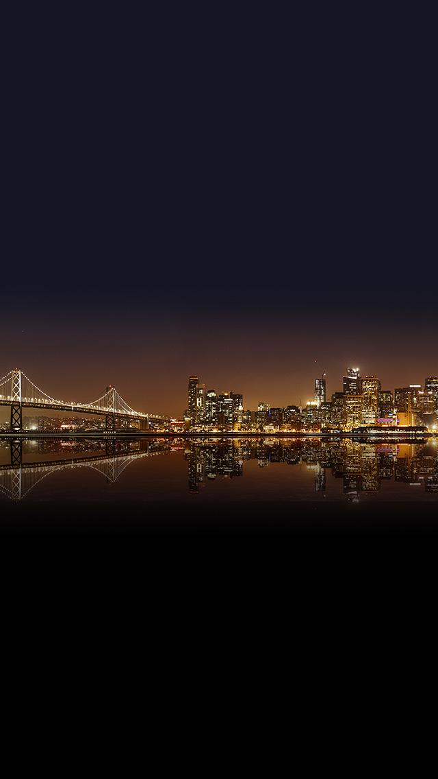 freeios8.com-iphone-4-5-6-plus-ipad-ios8-nr26-night-river-city-dark-nature