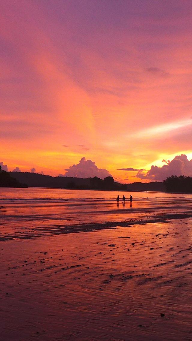 freeios8.com-iphone-4-5-6-plus-ipad-ios8-nr70-sunset-day-ocean-nature