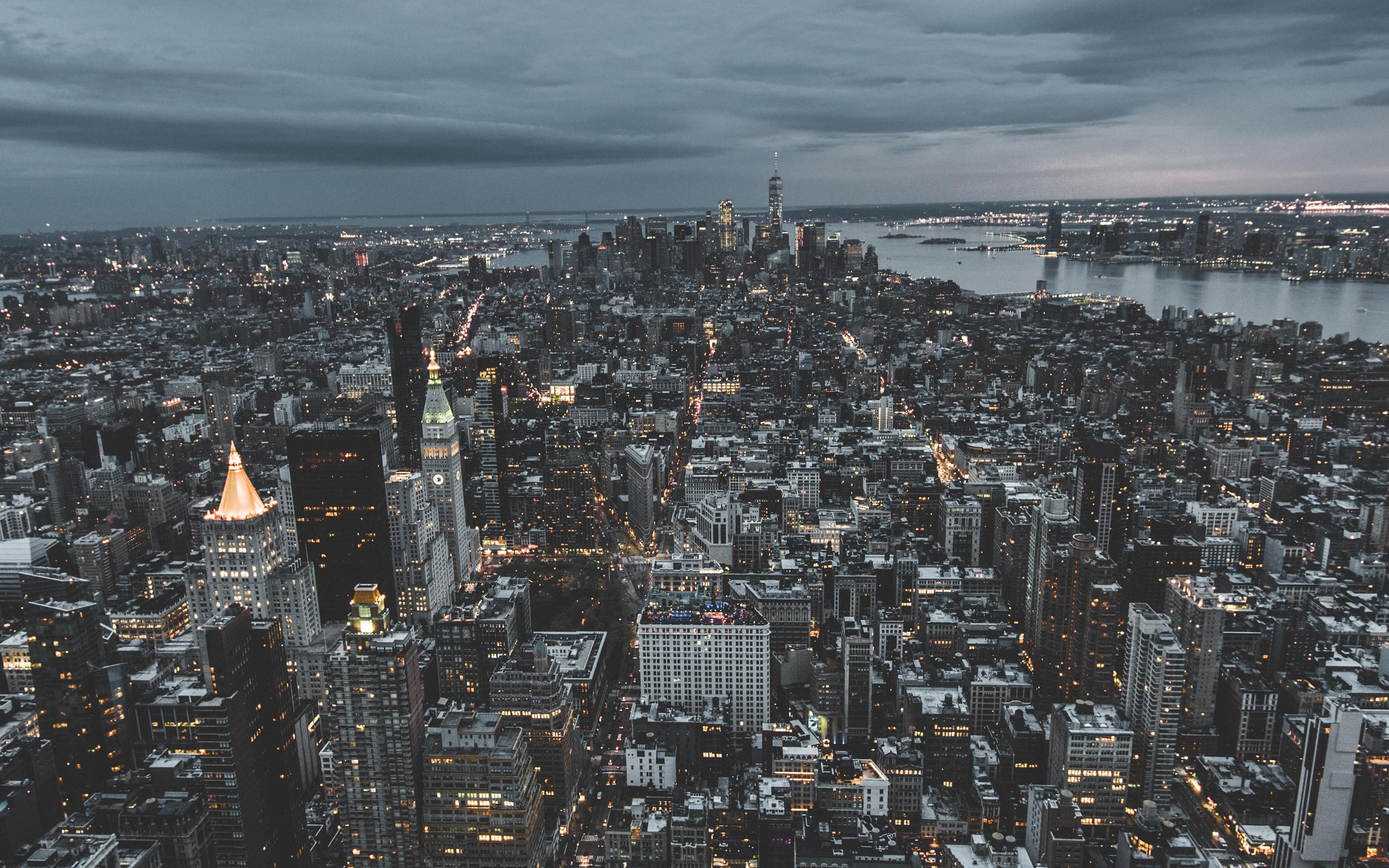Ns04 Unsplash City Sky Newyork Building Nature Wallpaper