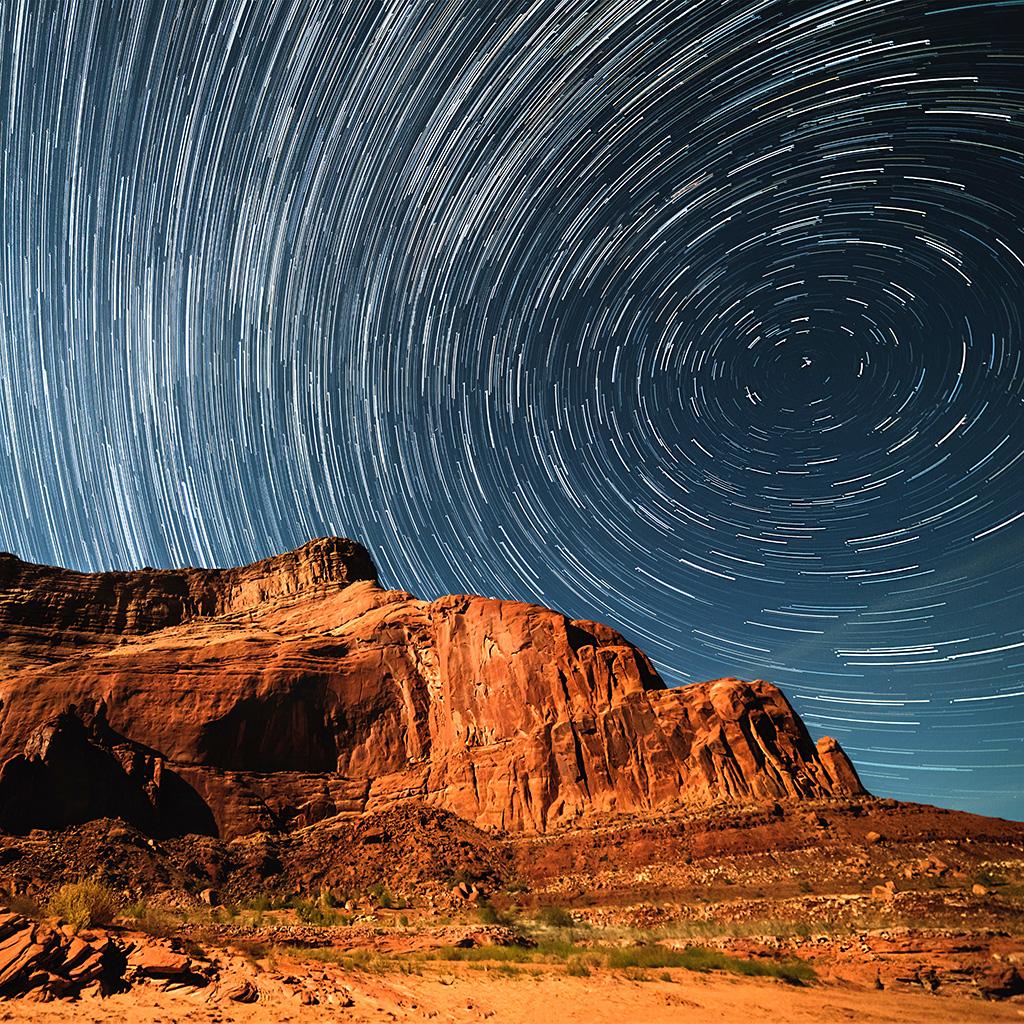 mountain sky space