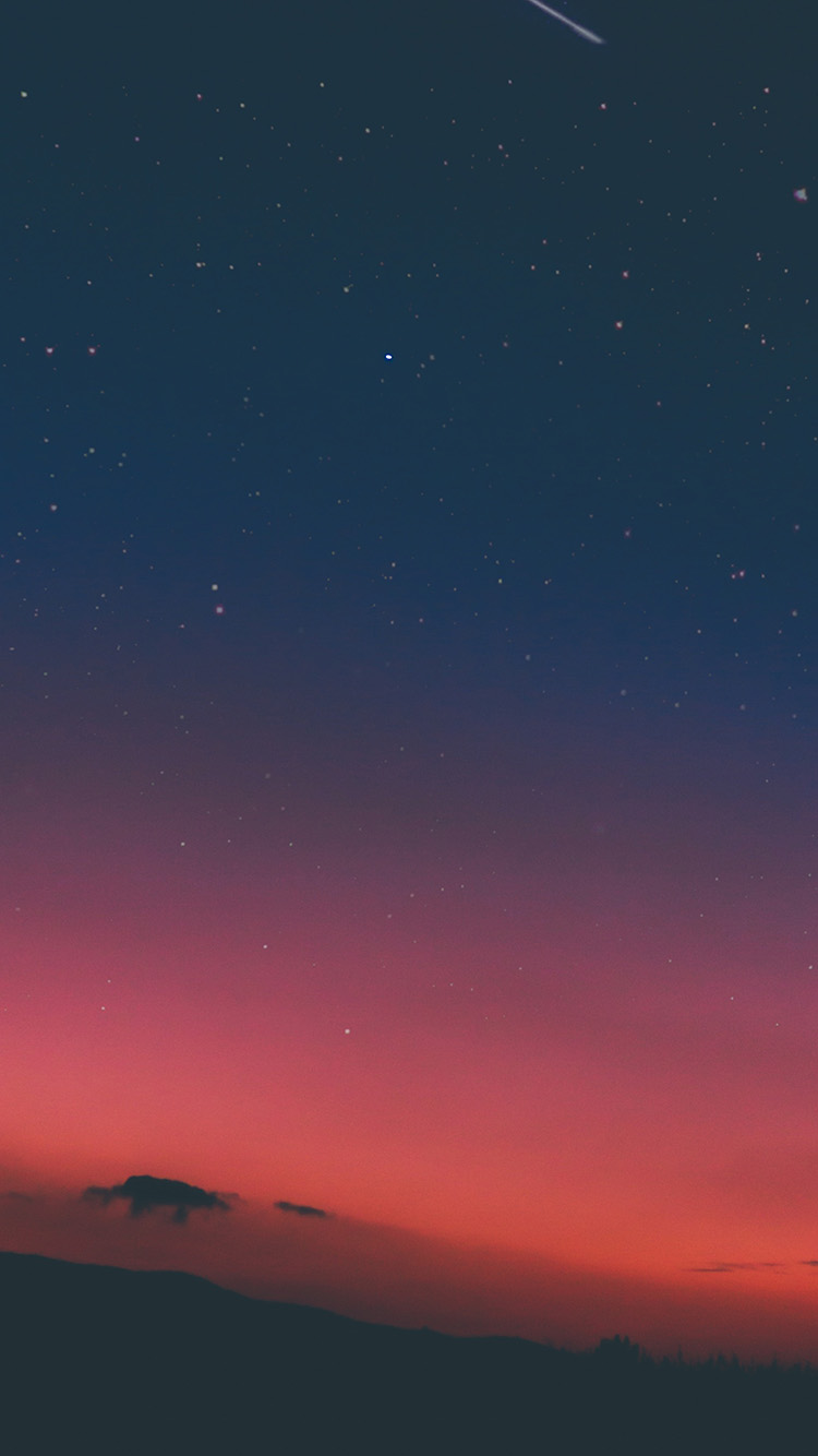 iPhonepapers.com-Apple-iPhone8-wallpaper-ns23-night-sky-sunset-pink-nature