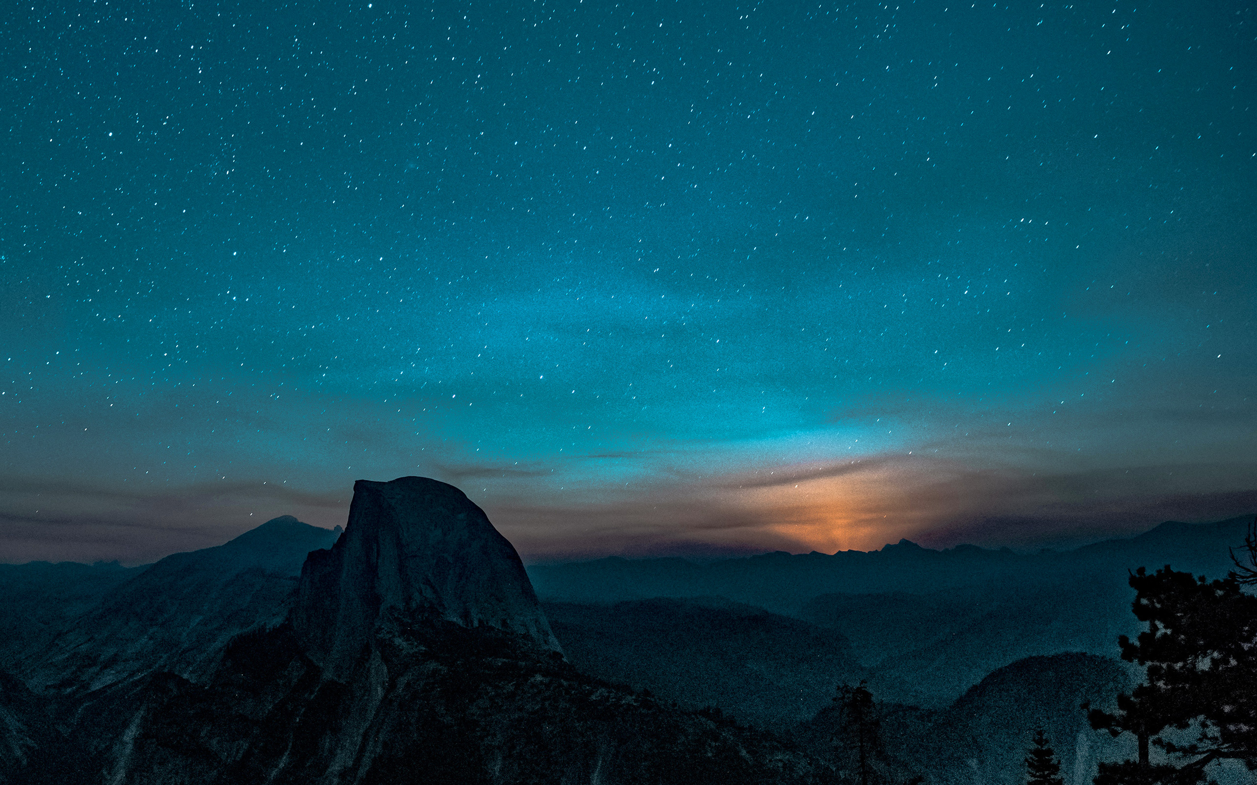 wallpaper for desktop, laptop   ns52-mountain-night-sky ...