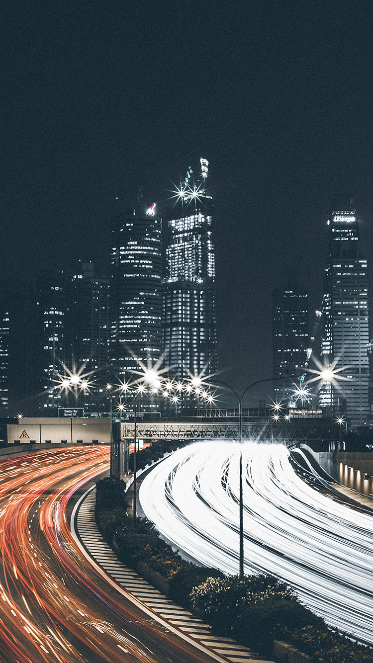 iPhone7papers.com-Apple-iPhone7-iphone7plus-wallpaper-ns99-city-car-night-view-dark-nature