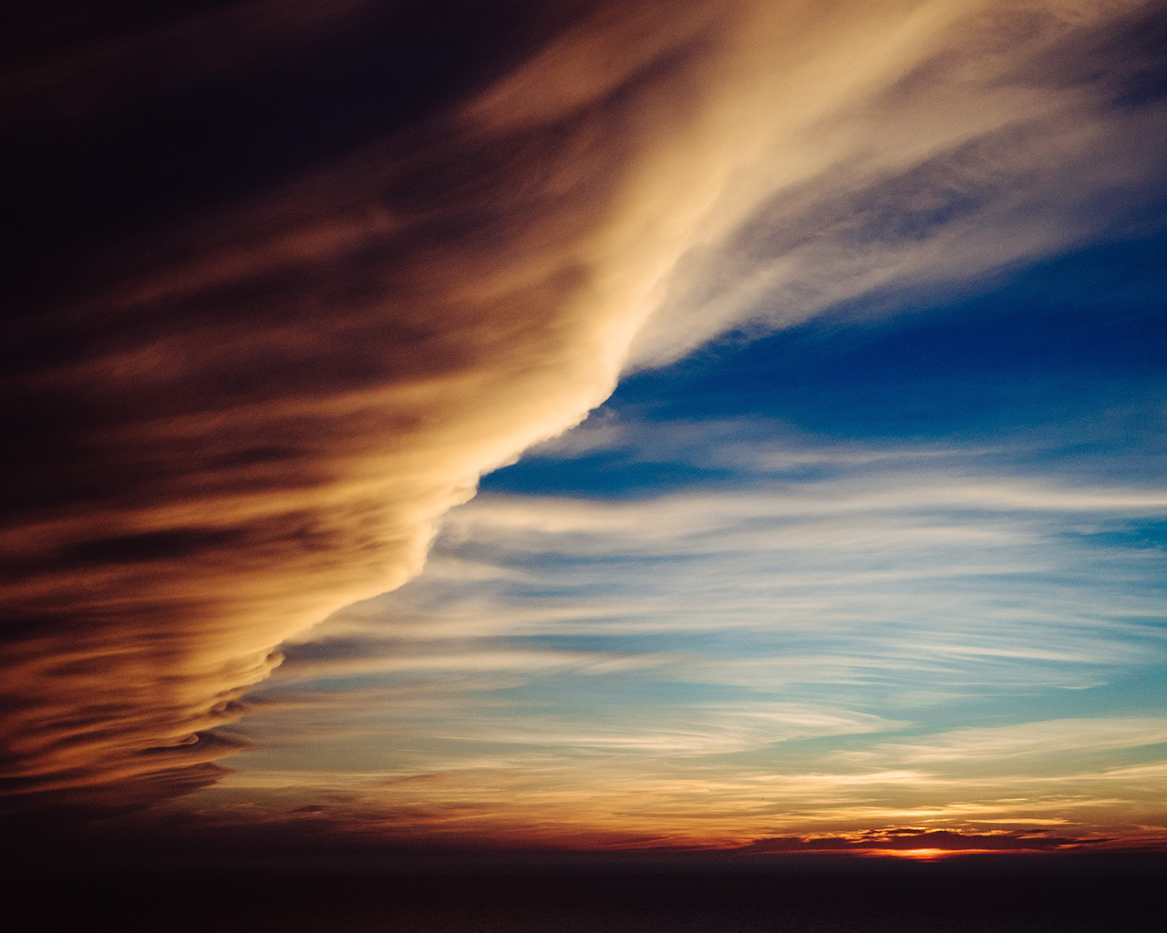 wallpaper for desktop, laptop | nt80-cloud-sky-rainbow ...