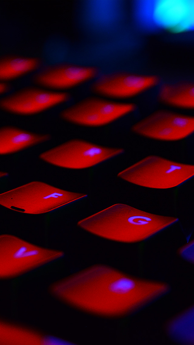 freeios8.com-iphone-4-5-6-plus-ipad-ios8-nu41-keyboard-red-dark-computer-nature