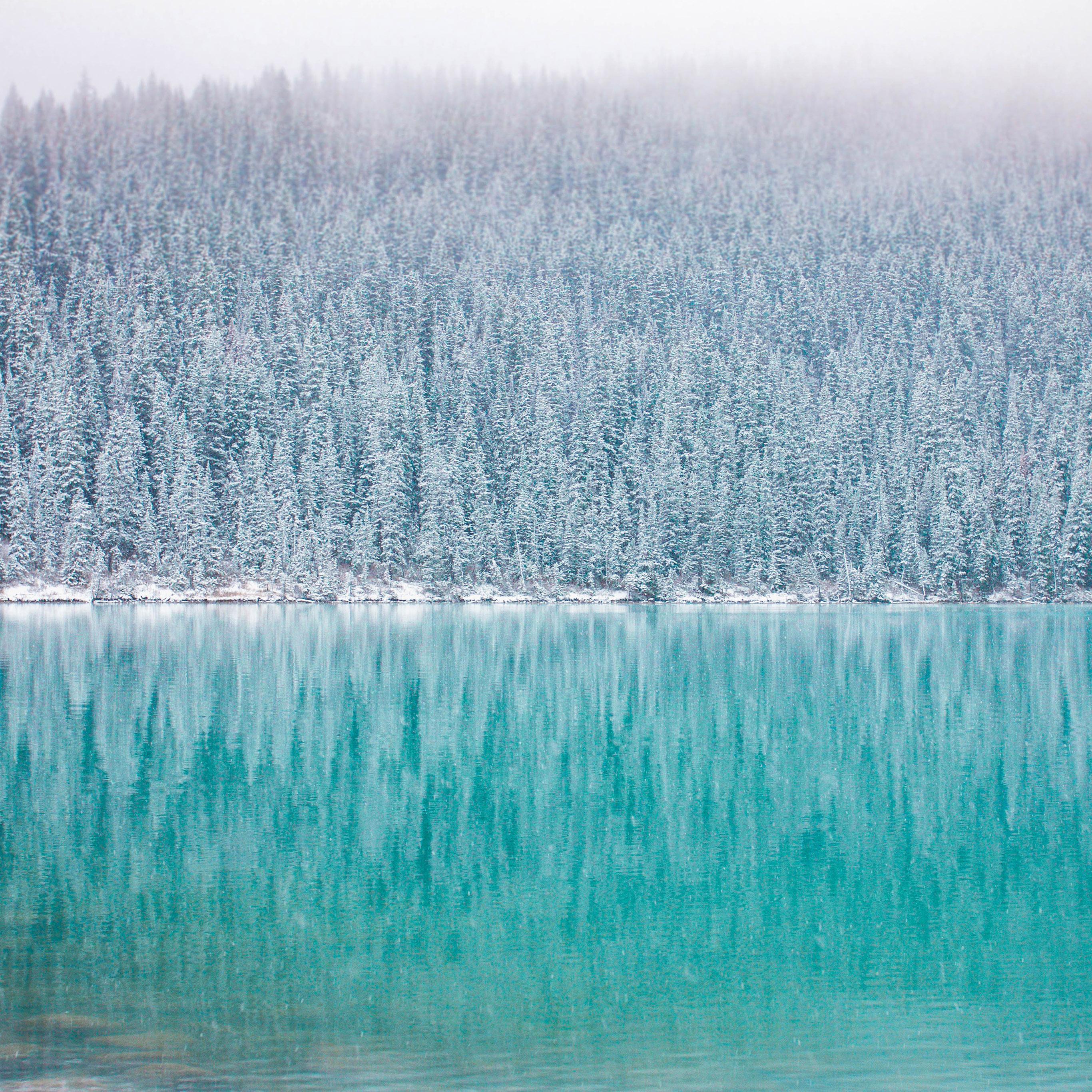 nu62-winter-mountain-lake-river-nature-wallpaper