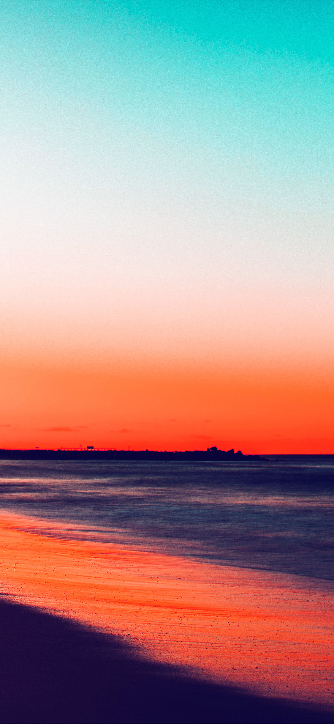 iPhonexpapers.com-Apple-iPhone-wallpaper-nu78-sunset-beach-fall-night-sea-nature-red