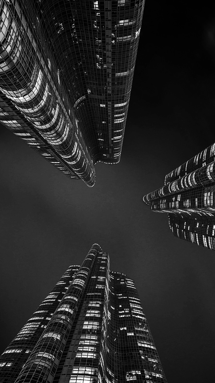 iPhonepapers.com-Apple-iPhone-wallpaper-nu83-building-tower-night-architecture-city-nature-bw