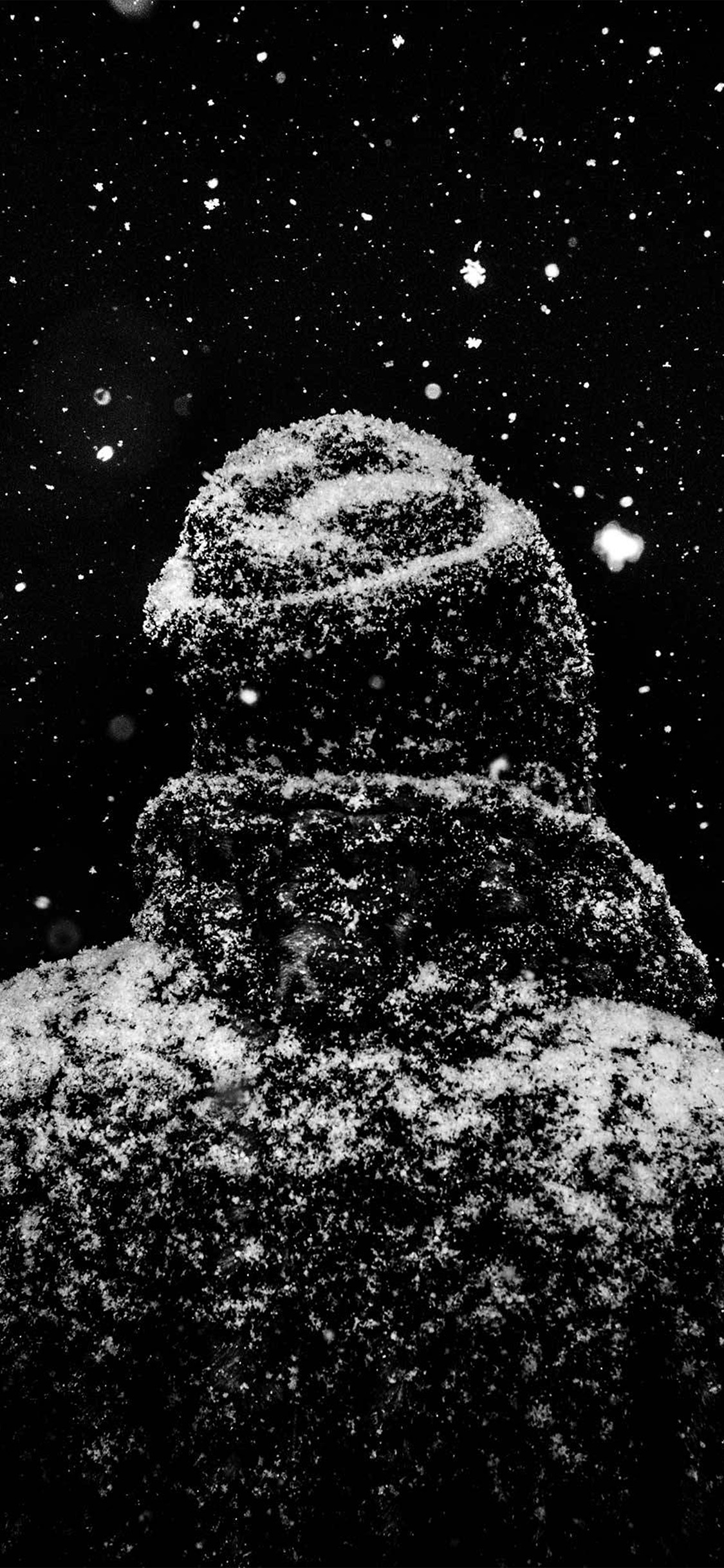 Iphonexpapers Com Iphone X Wallpaper Nu86 Snow Winter Dark Man