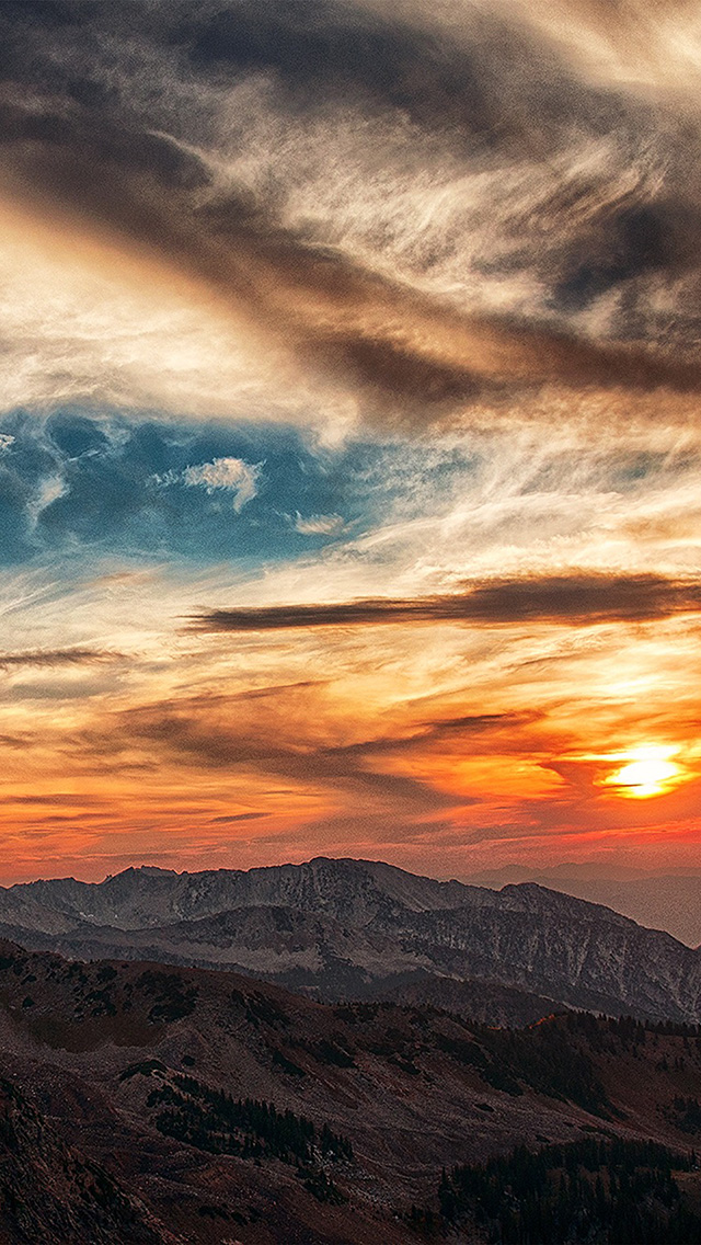 freeios8.com-iphone-4-5-6-plus-ipad-ios8-nv05-sunset-mountain-sky-cloud-nature