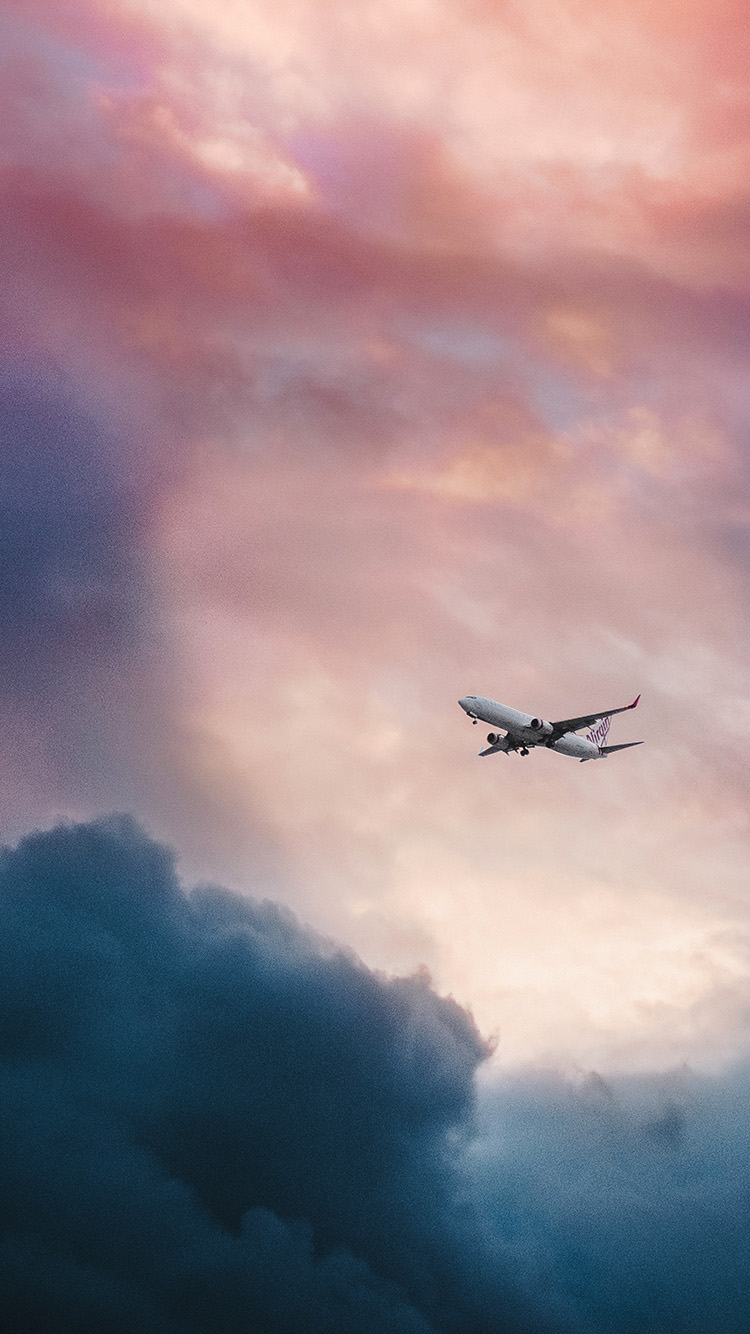 iPhone6papers.co-Apple-iPhone-6-iphone6-plus-wallpaper-nv09-cloud-plane-fly-sky-nature