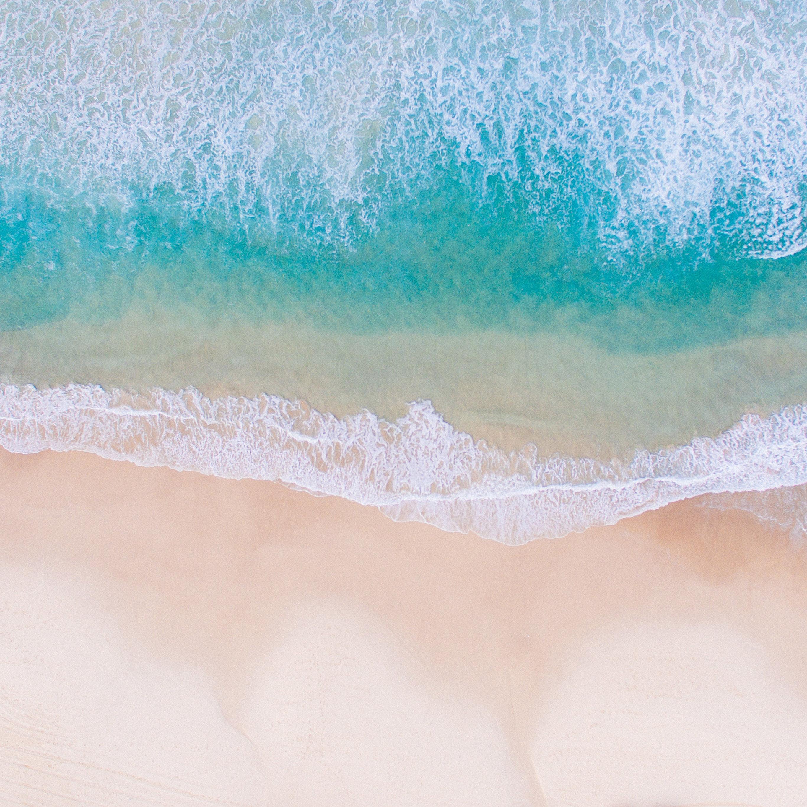 Papers Co Ipad Wallpaper Nv20 Sea Beach Water Summer