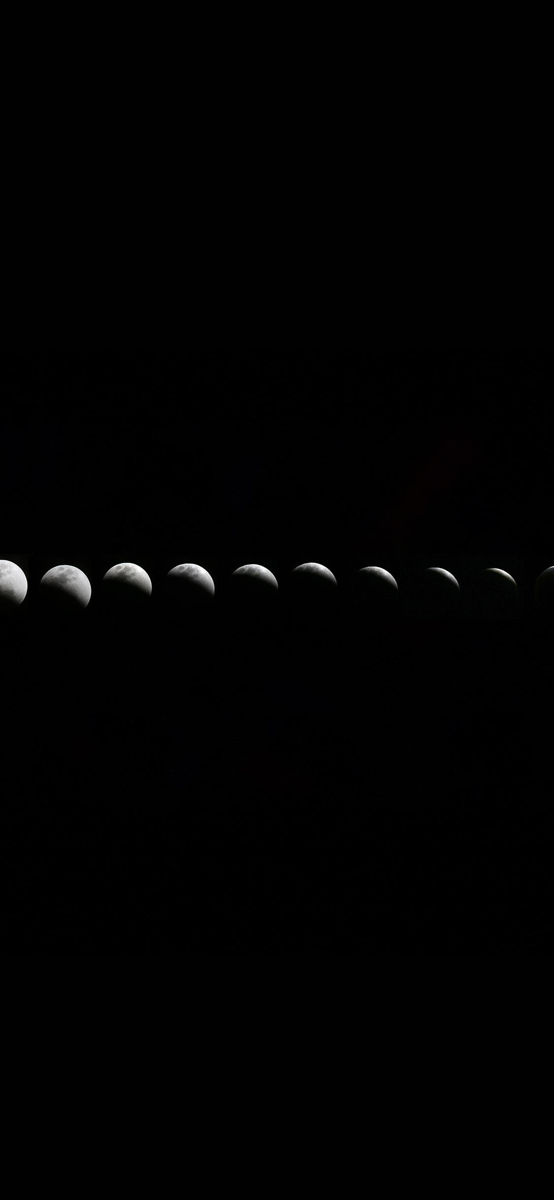 Iphonexpapers Com Iphone X Wallpaper Nw50 Moon Fade Lunar Nature Space Dark