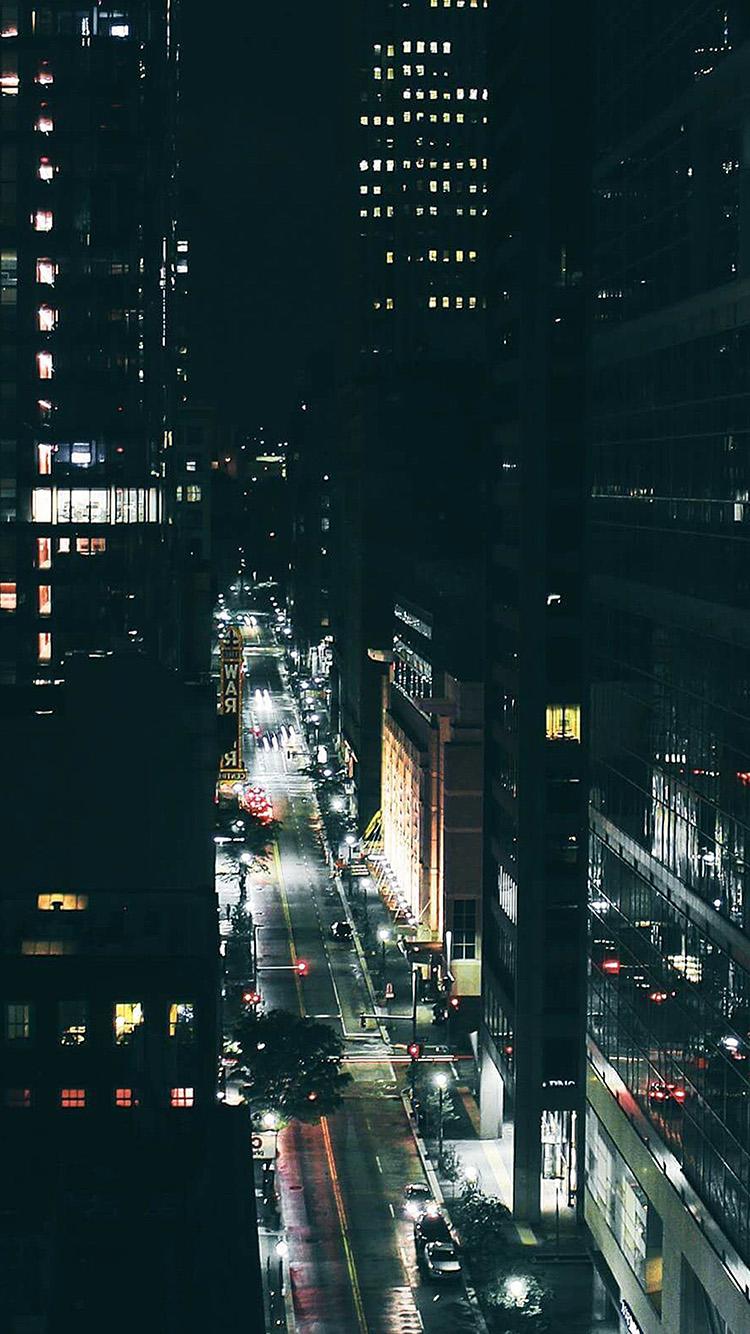 iPhone7papers.com-Apple-iPhone7-iphone7plus-wallpaper-nw62-city-night-traffic-dark-nature