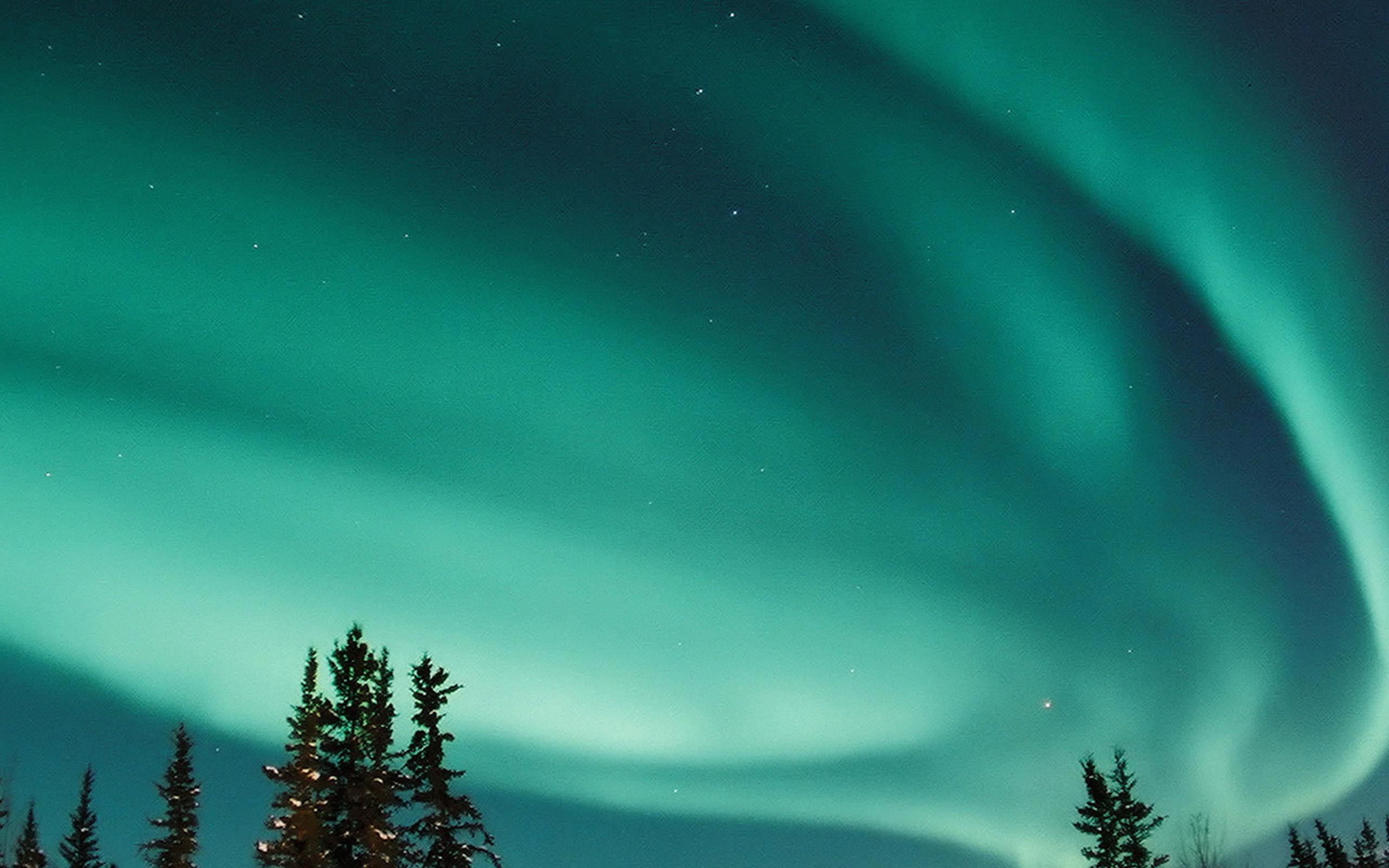 Nw70 aurora blue night sky space nature winter wallpaper - Space night sky wallpaper ...