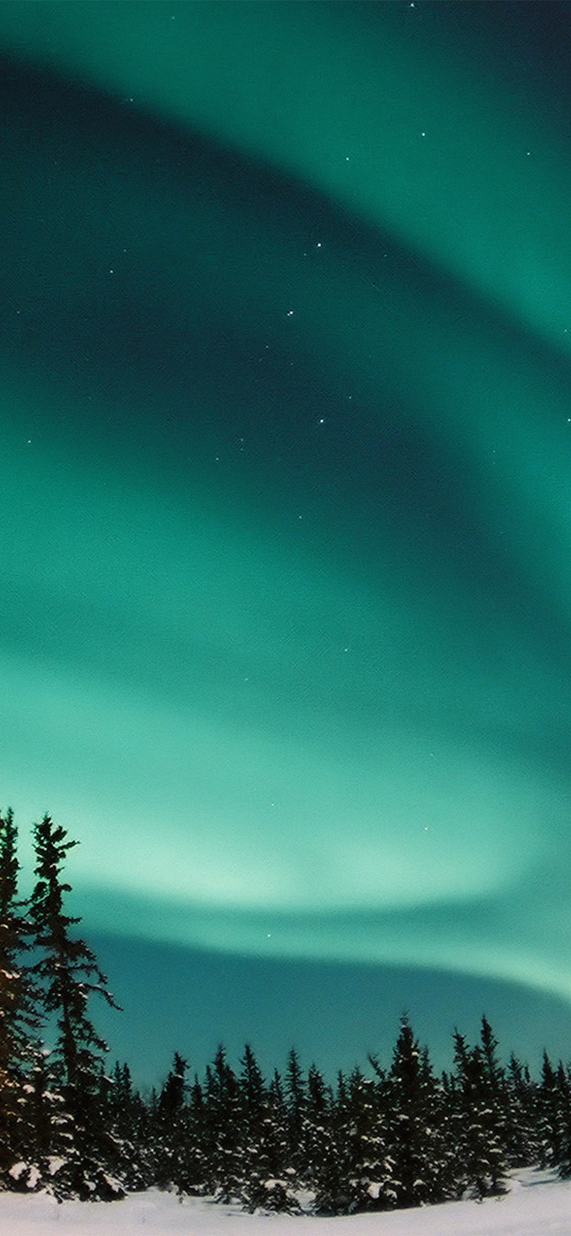 iPhonexpapers.com-Apple-iPhone-wallpaper-nw70-aurora-blue-night-sky-space-nature-winter