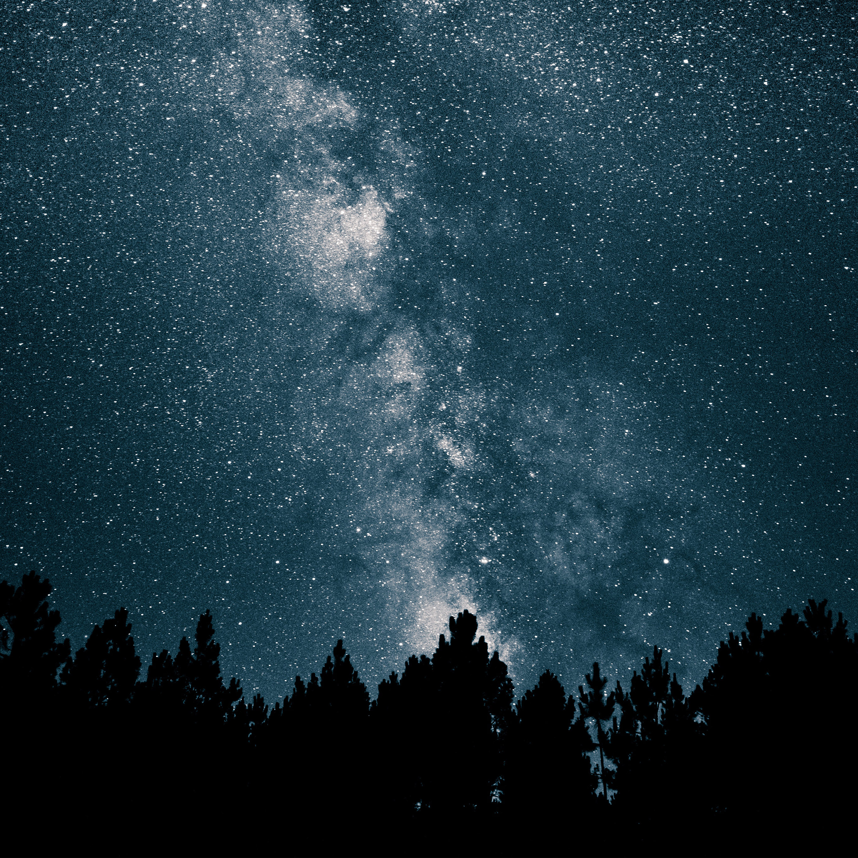 Best Apple Logo Iphone Wallpaper: Nw75-night-sky-space-star-mountain-nature-wallpaper
