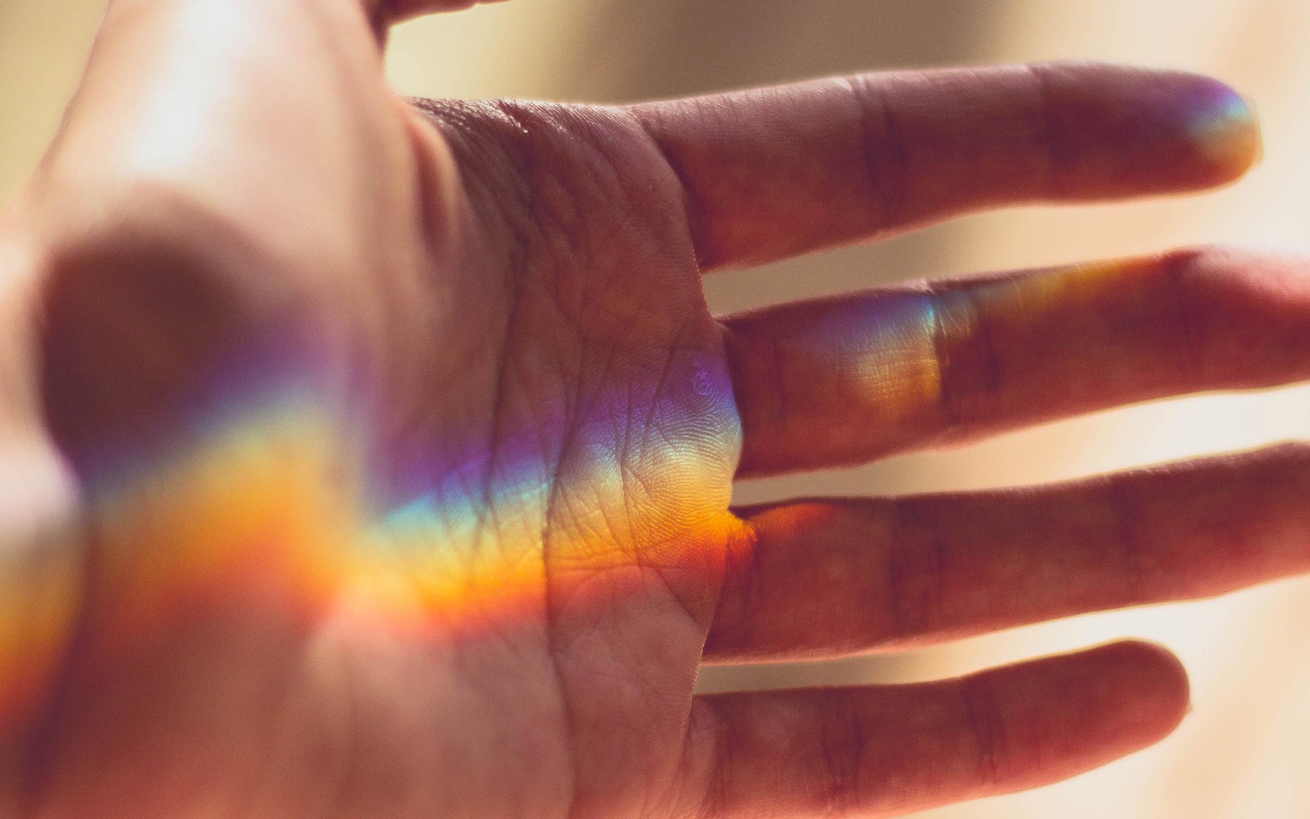 Moto G Plus >> nx00-rainbow-hand-warm-nature-wallpaper