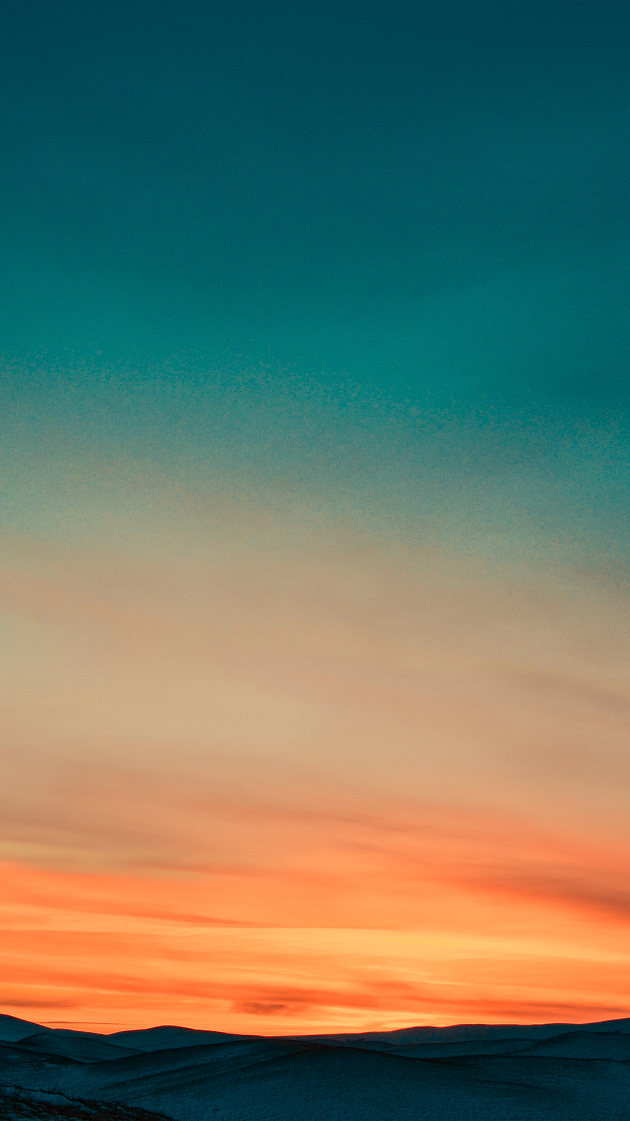 nx46-sunset-mountain-sky-red-nature-wallpaper