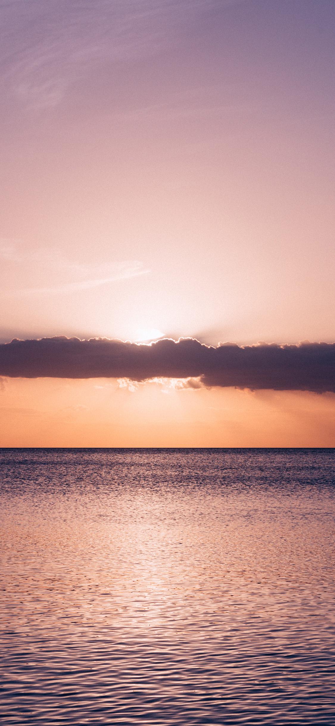 iPhonexpapers.com-Apple-iPhone-wallpaper-ny31-sunset-cloud-sea-beach-ocean-nature
