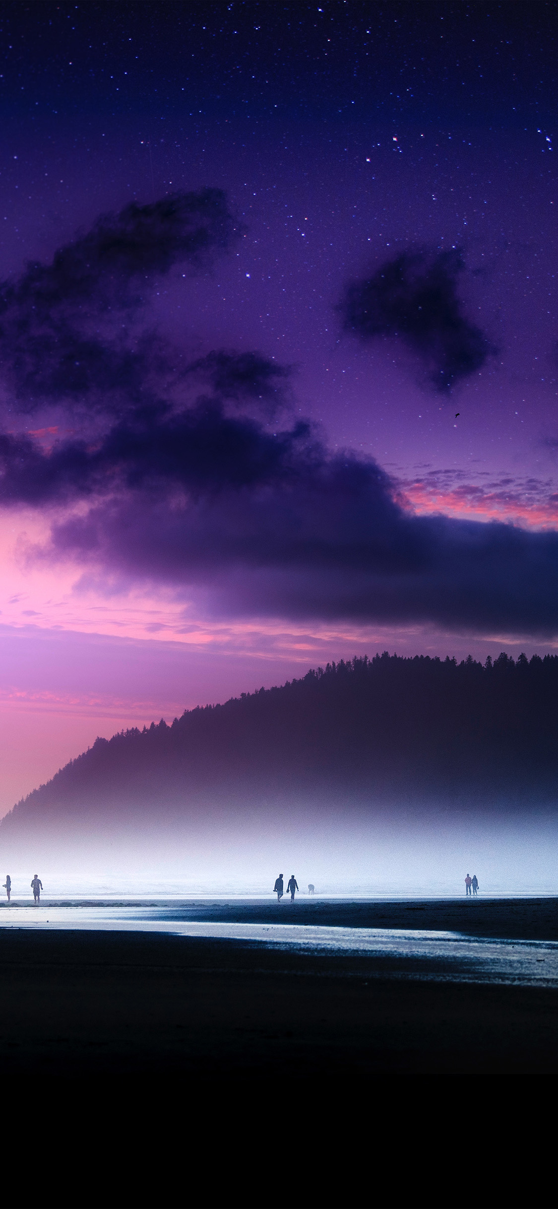 iPhonexpapers.com-Apple-iPhone-wallpaper-ny46-beach-lovely-cloud-sunset-purple-sea-nature