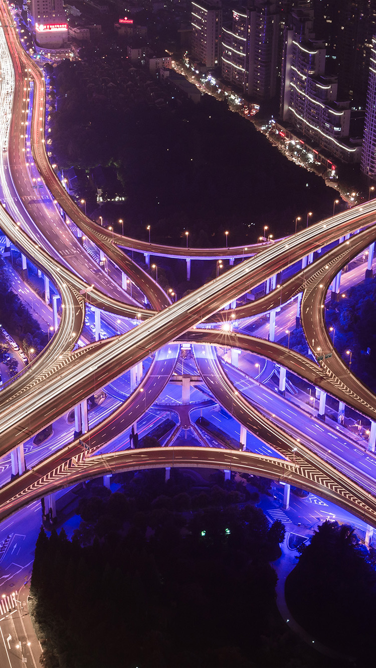iPhone6papers.co-Apple-iPhone-6-iphone6-plus-wallpaper-ny51-street-city-road-highway-purple-night-nature