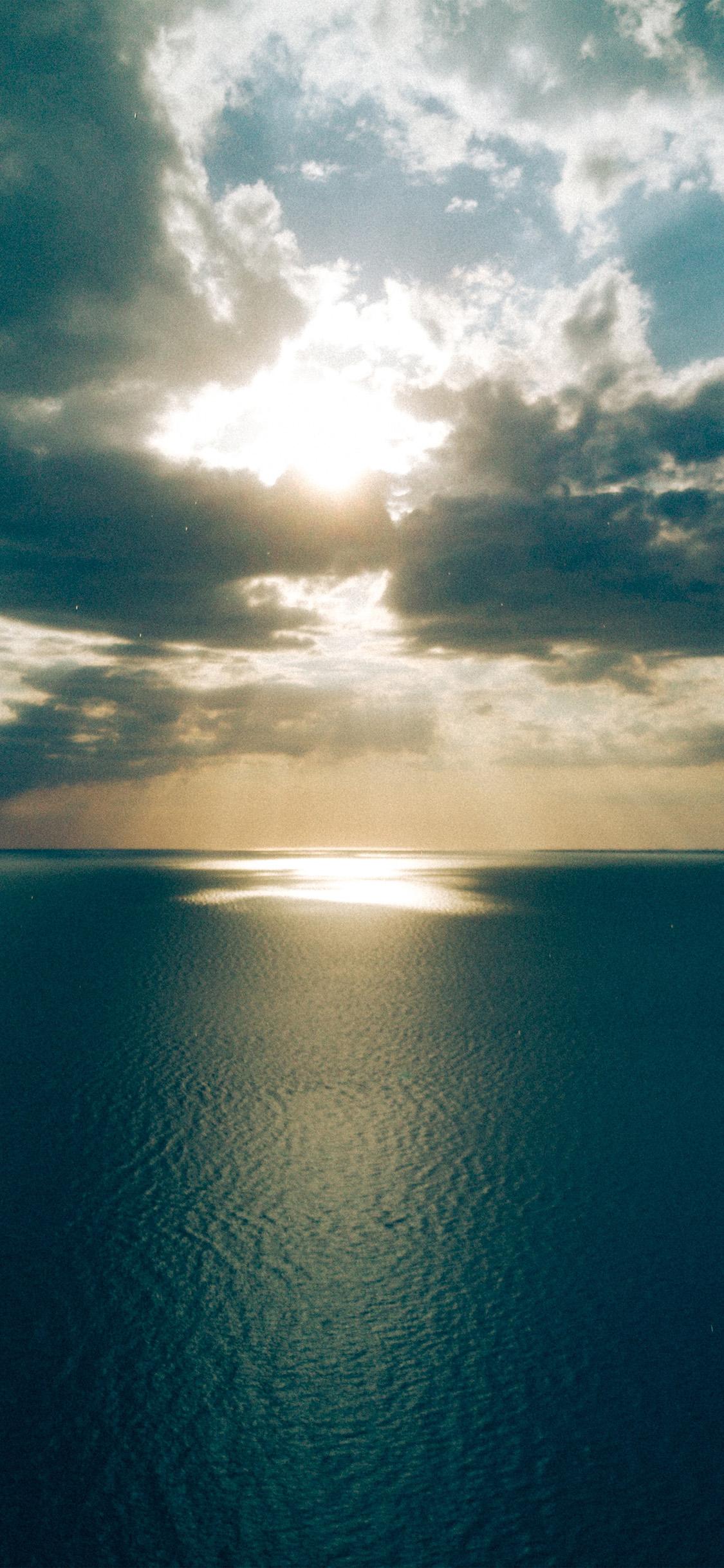 iPhonexpapers.com-Apple-iPhone-wallpaper-ny99-sea-sun-cloud-ocean-nature