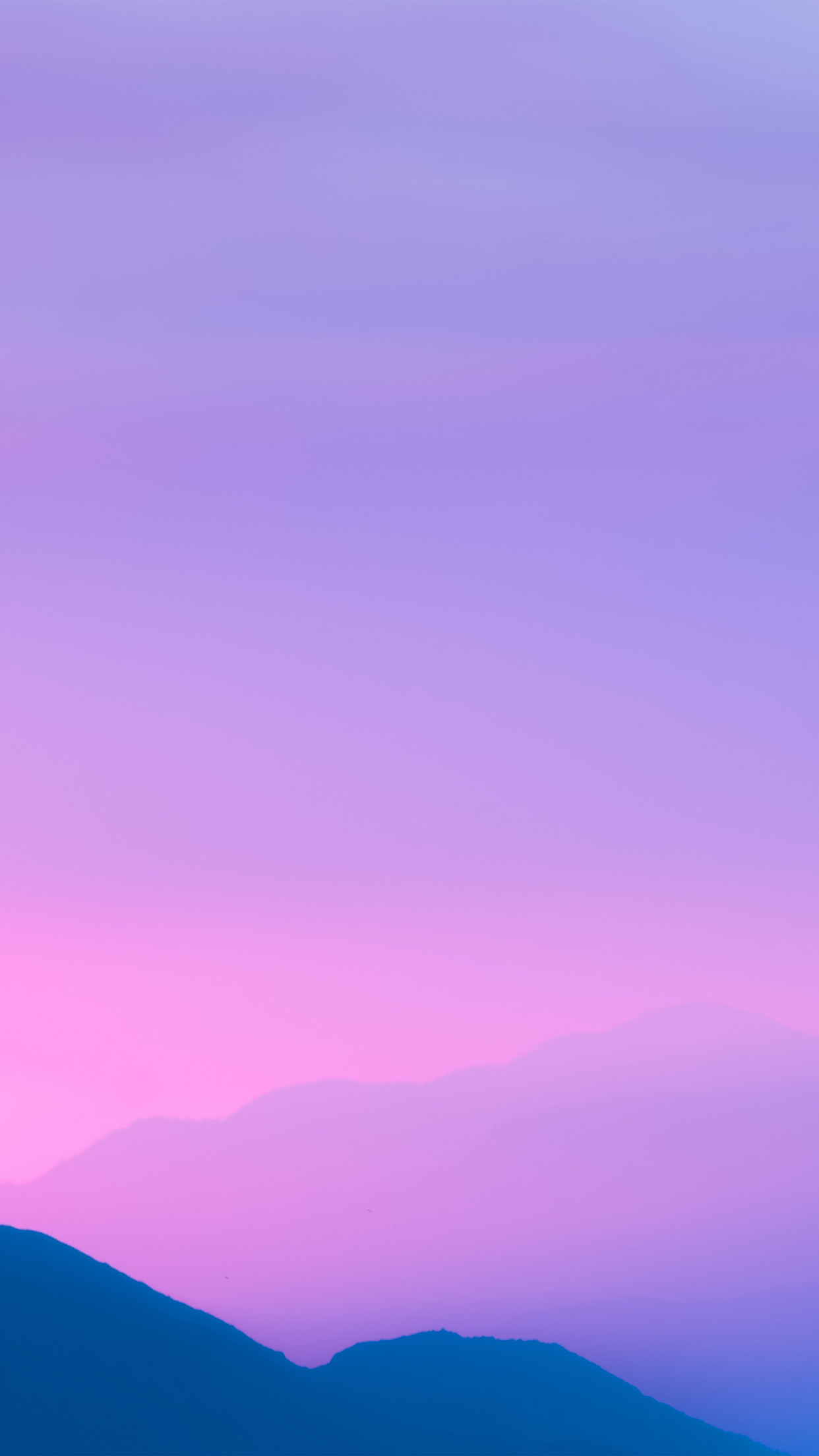 Iphone7papers Com Iphone7 Wallpaper Nz11 Sky Purple Sunset Nature Blur