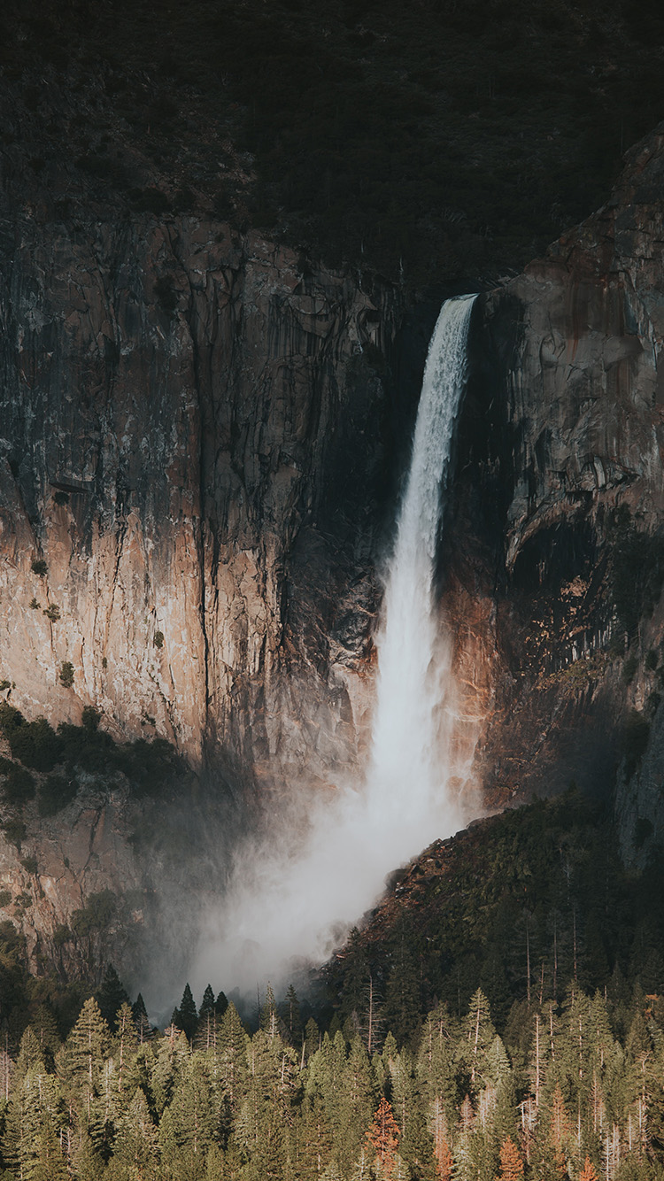iPhone7papers.com-Apple-iPhone7-iphone7plus-wallpaper-nz22-water-fall-mountain-nature