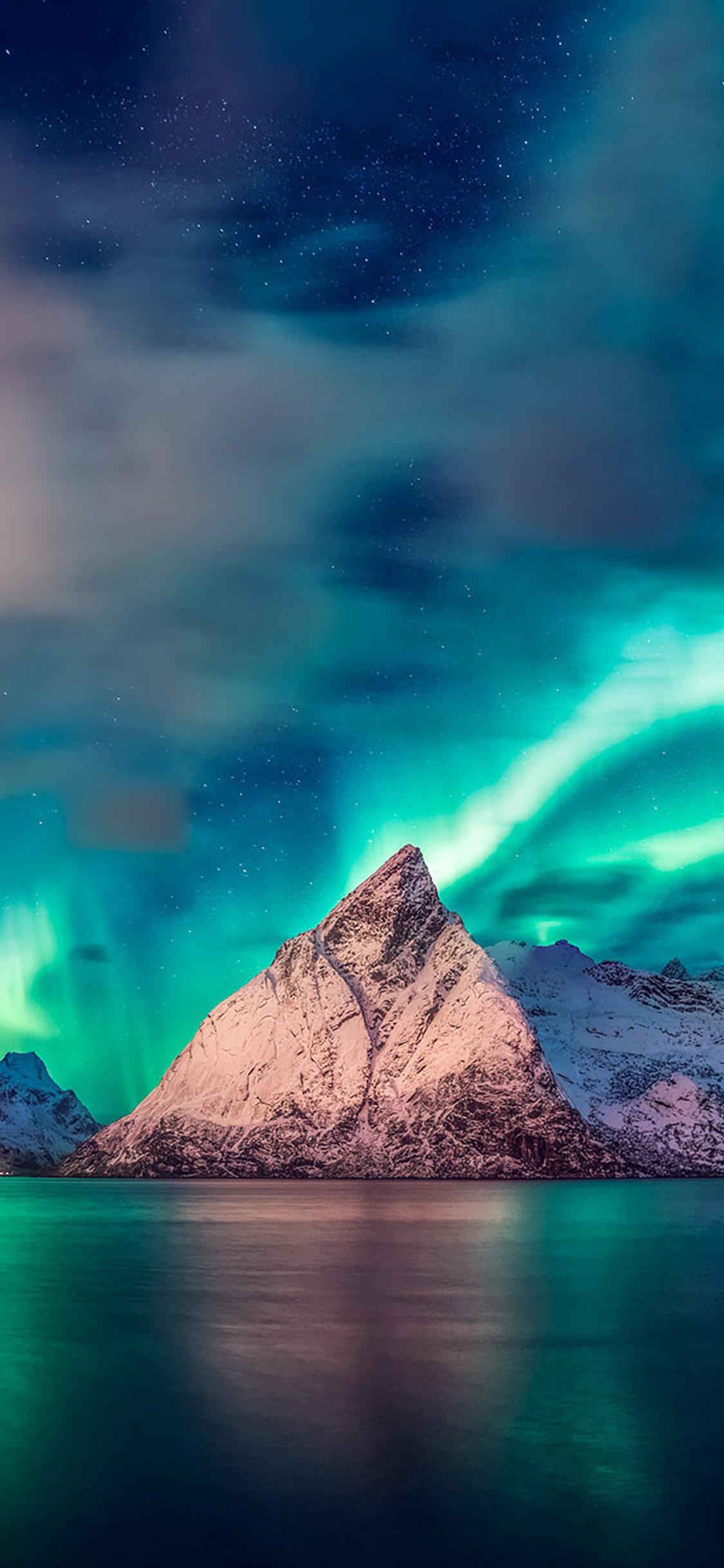 iPhonexpapers.com-Apple-iPhone-wallpaper-oa65-aurora-mountain-sea-nature-night-sky