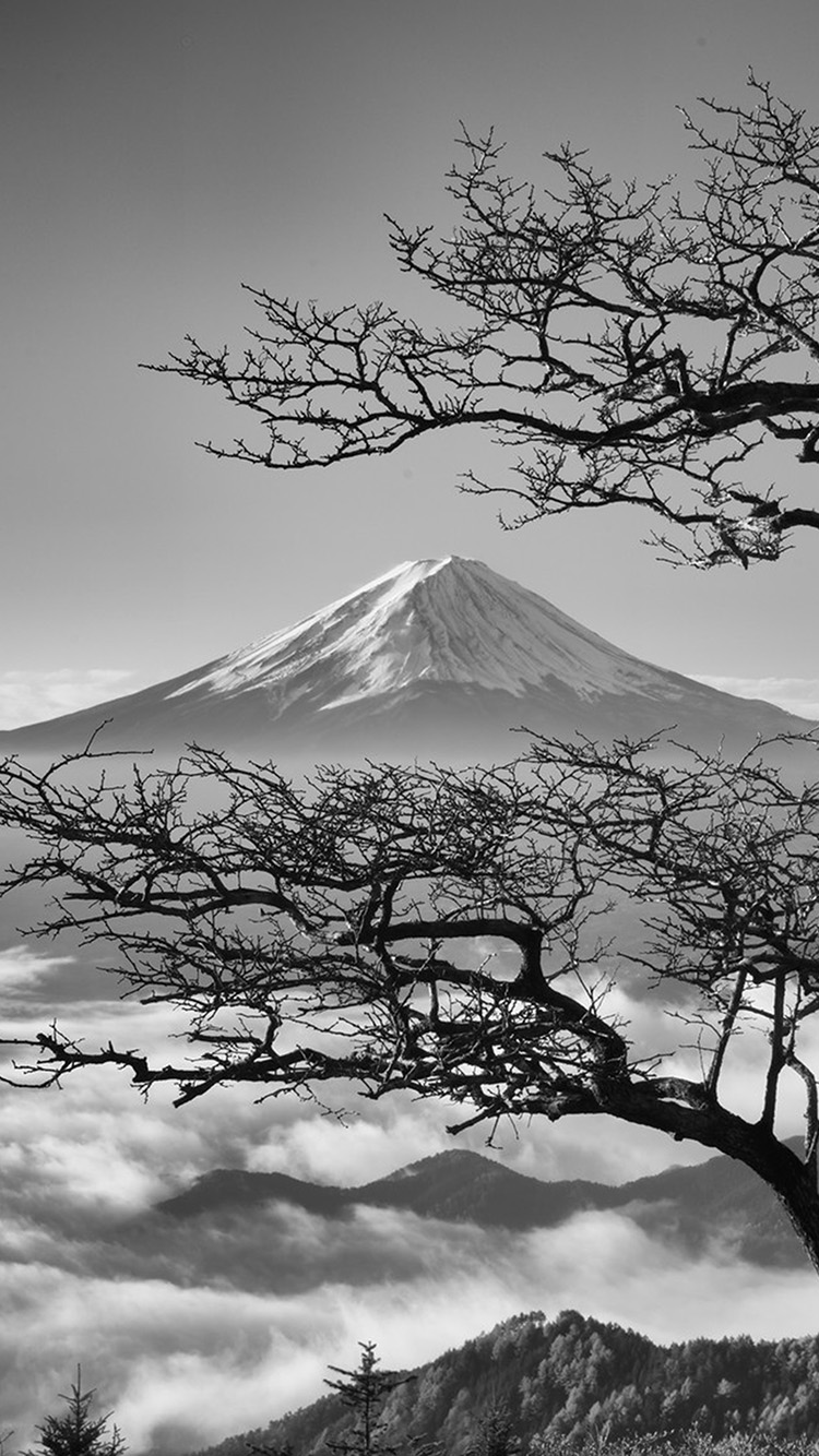 iPhone6papers.co-Apple-iPhone-6-iphone6-plus-wallpaper-oa85-japan-fuji-maountain-bw-nature