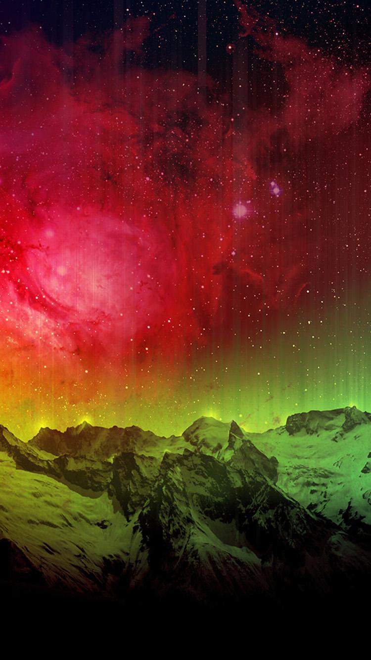 iPhonepapers.com-Apple-iPhone-wallpaper-ob31-mountain-aurora-sky-red-nature