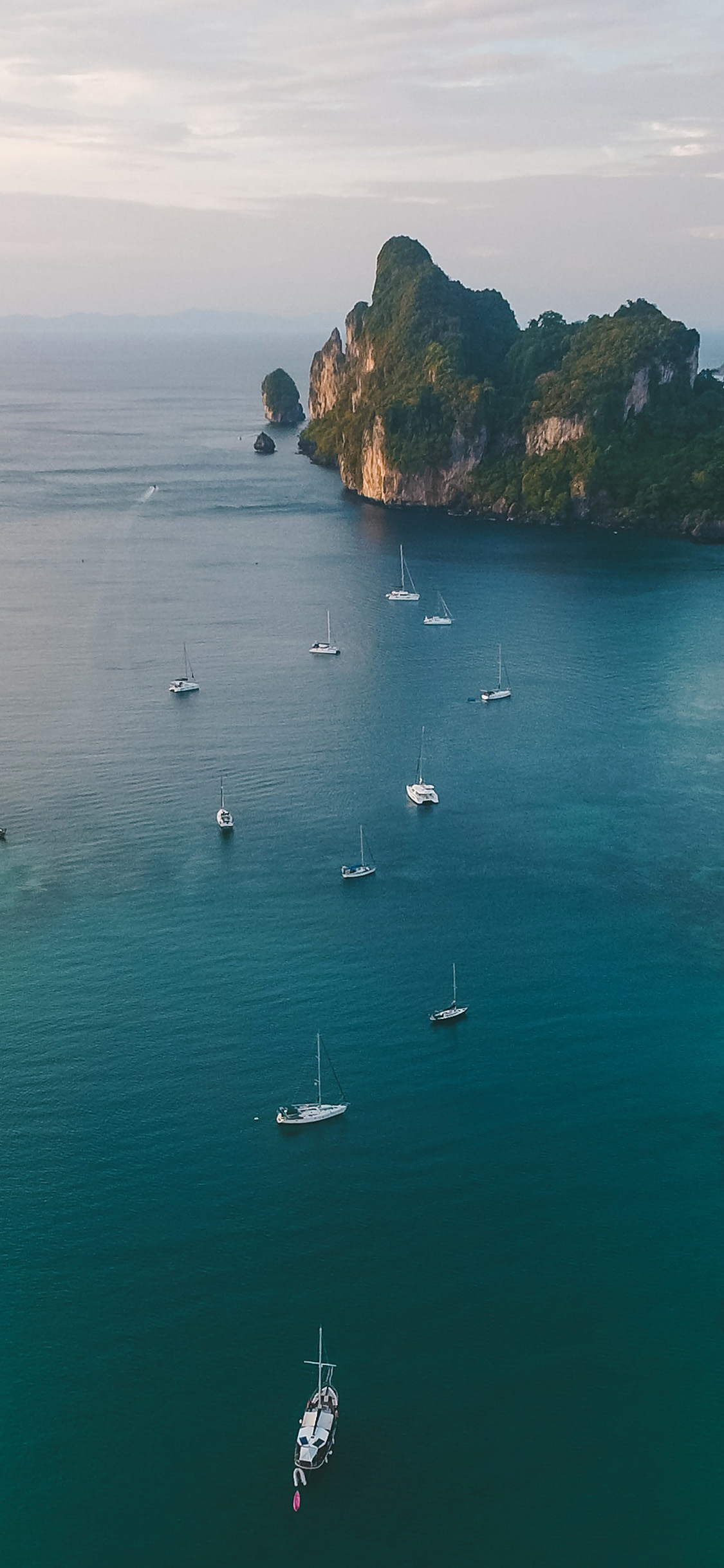 iPhonexpapers.com-Apple-iPhone-wallpaper-ob43-sea-ocean-boats-island-summer-nature
