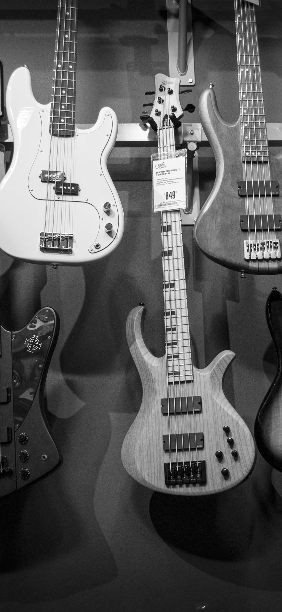 iPhonexpapers.com-Apple-iPhone-wallpaper-oc12-guitar-music-instrument-bw-nature