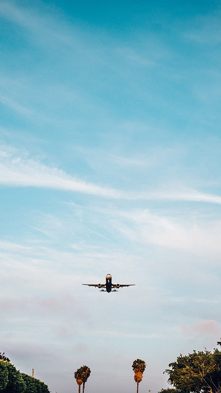 Papers.co-iPhone5-iphone6-plus-wallpaper-oc66-vacation-landing-fly-plane-summer-nature