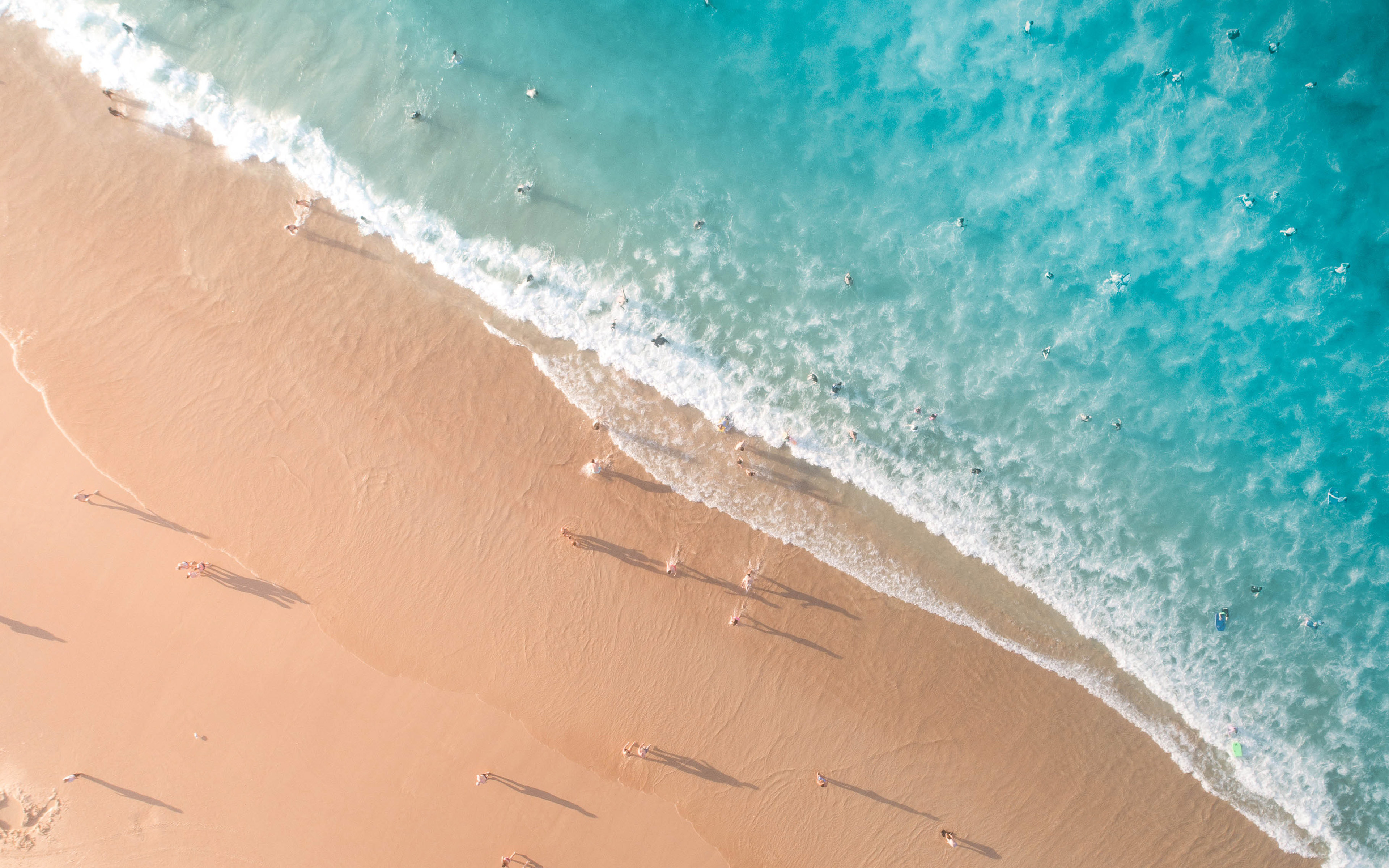 Oc67 Sea Vacation Beach Ocean Summer Nature Wallpaper