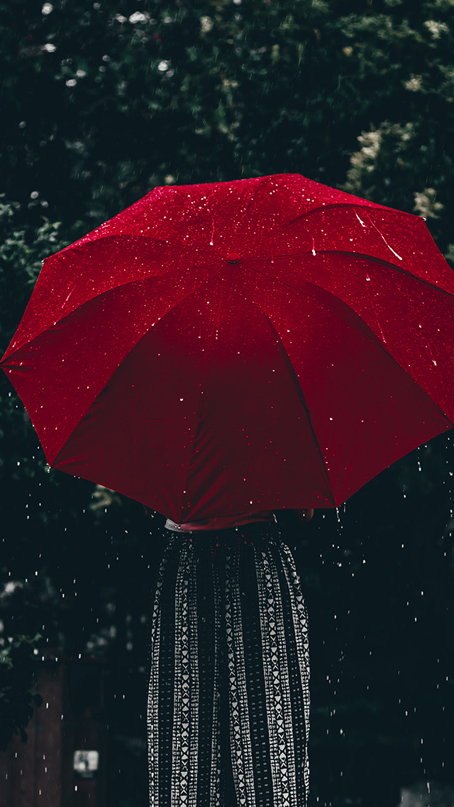 freeios8.com-iphone-4-5-6-plus-ipad-ios8-od13-nature-rain-umbrella-red