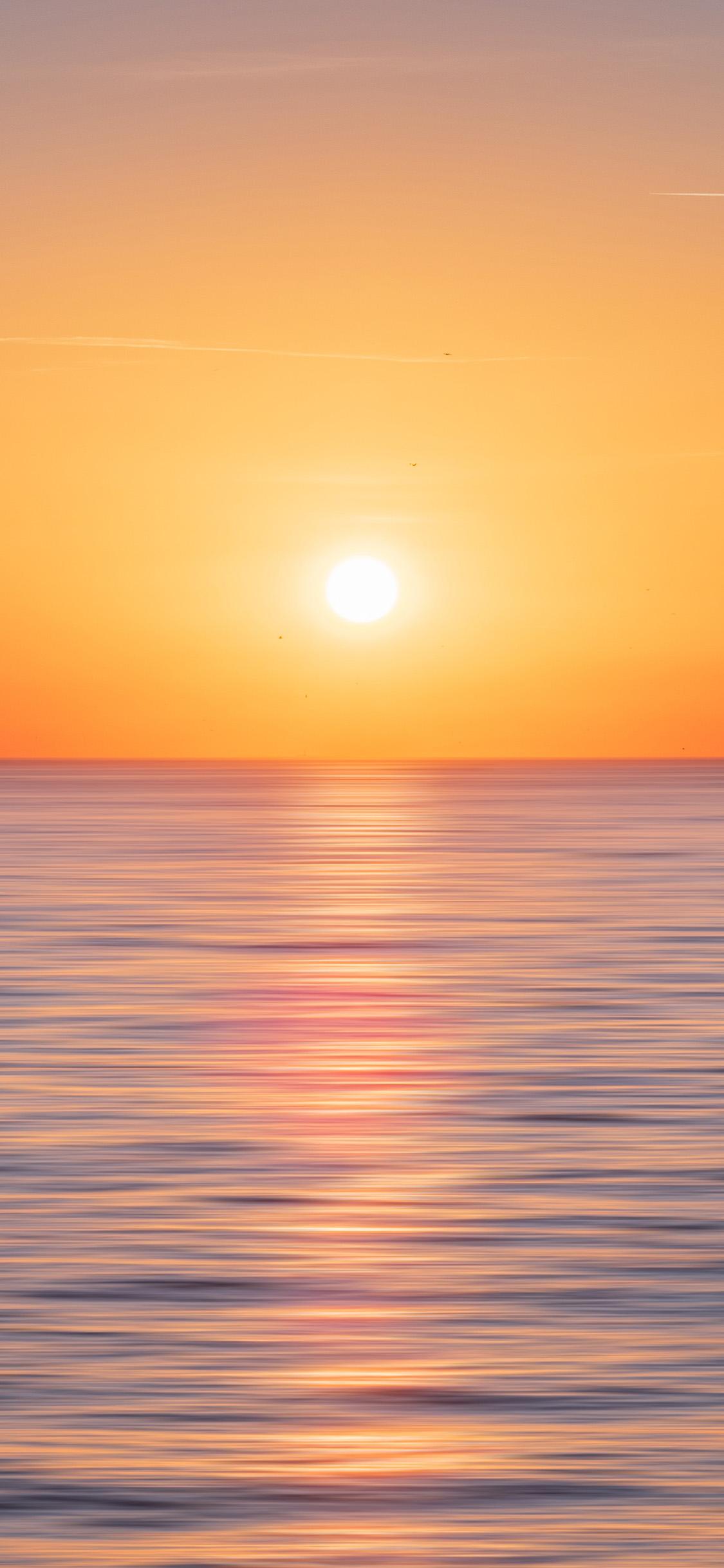 Od33 Nature Sun Sunset Sea Sky Ocean Wallpaper