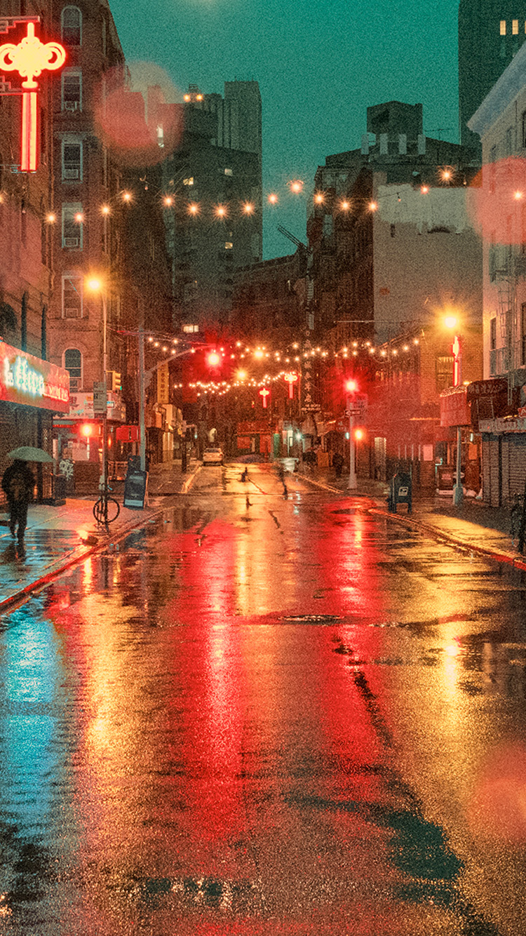 iPhonepapers.com-Apple-iPhone-wallpaper-od57-nature-street-city-light-red-rain