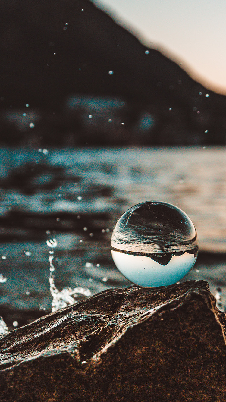 iPhone7papers.com-Apple-iPhone7-iphone7plus-wallpaper-od82-nature-sea-water-drop-photo-sunset