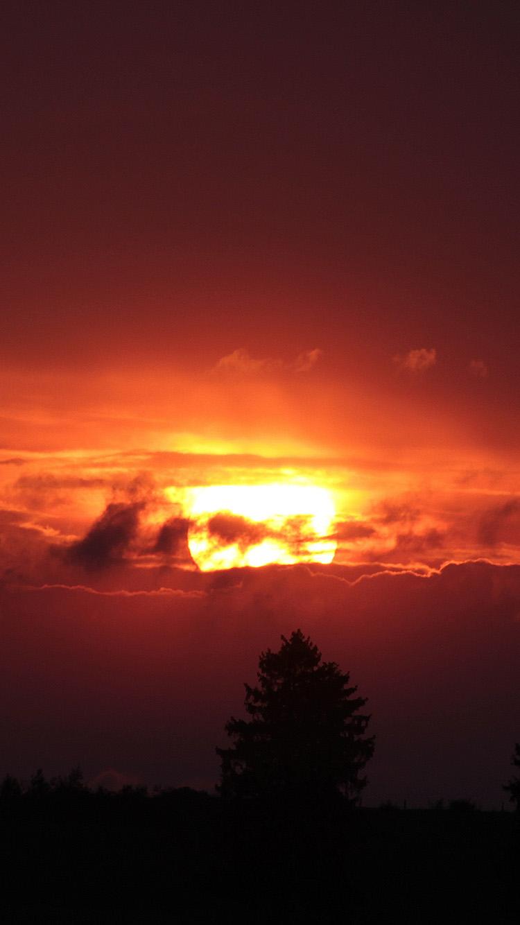 iPhone7papers.com-Apple-iPhone7-iphone7plus-wallpaper-oe33-nature-sunset-cloud-sun-night