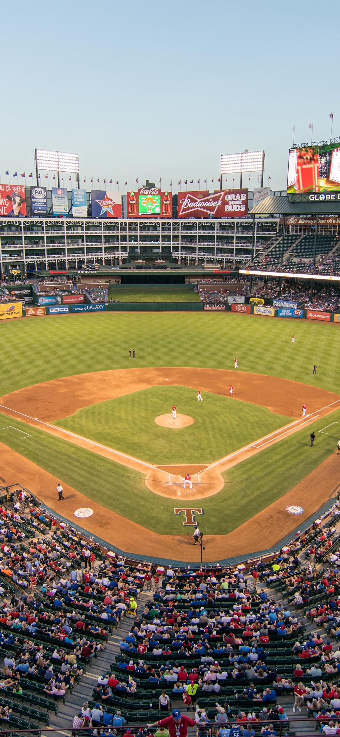 Iphonexpapers Com Iphone X Wallpaper Oe99 Nature Stadium Baseball Usa Sports