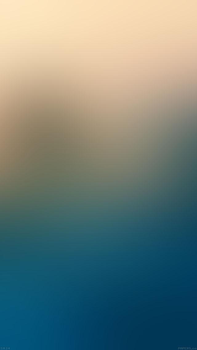 freeios8.com-iphone-4-5-6-ipad-ios8-sa34-blue-sea-yellow-sky-blur