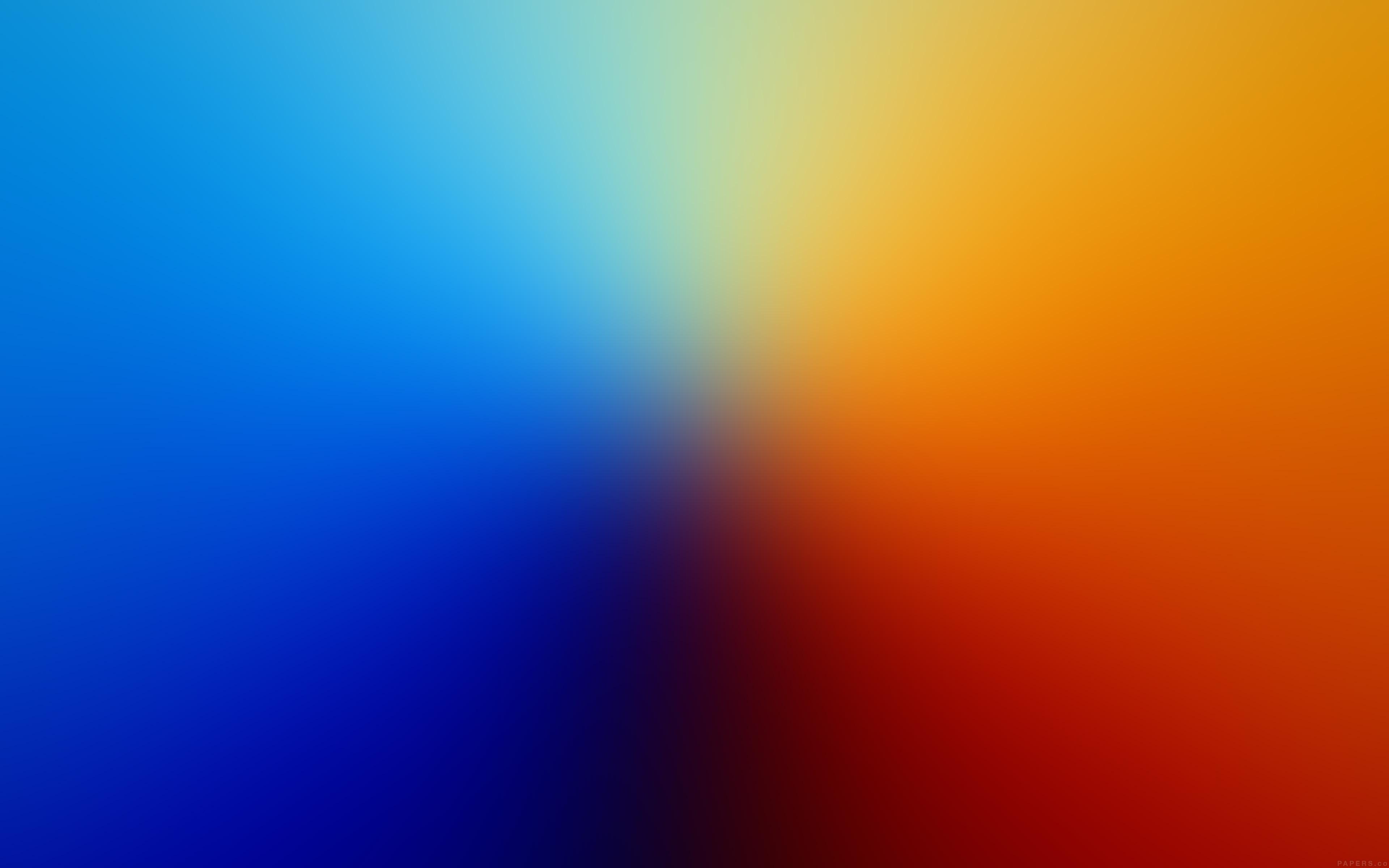 Se58 Rainbow Circle Gradation Blur Papersco