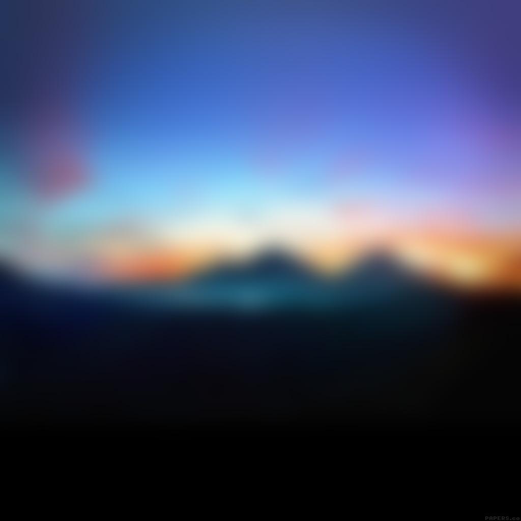 android-wallpaper-se86-mountain-sunrise-gradation-blur-wallpaper