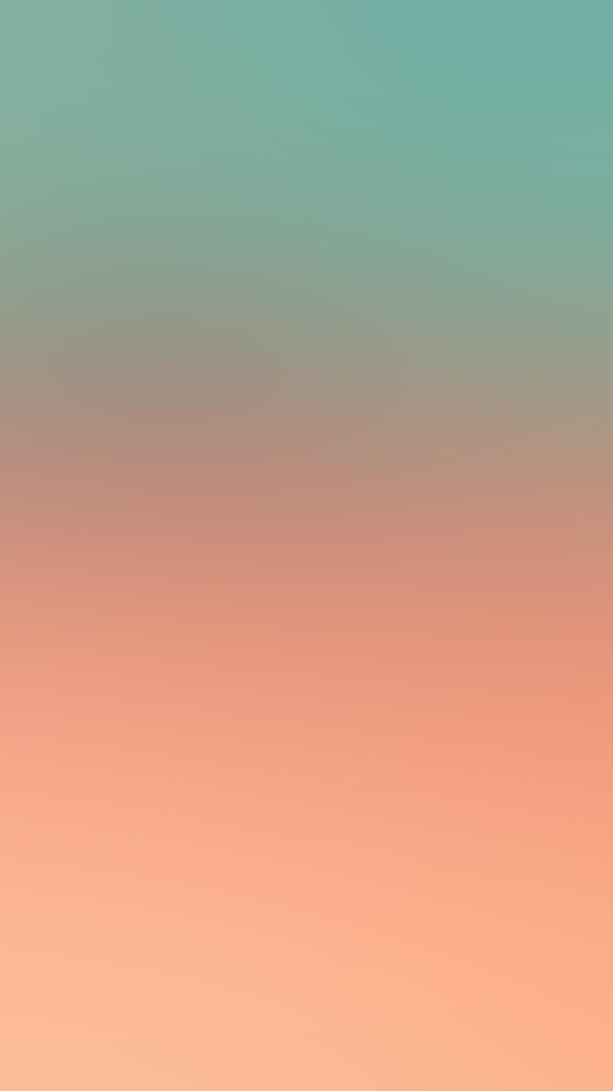 papers.co si52 green orange soft pastel gradation blur 34 iphone6 plus wallpaper