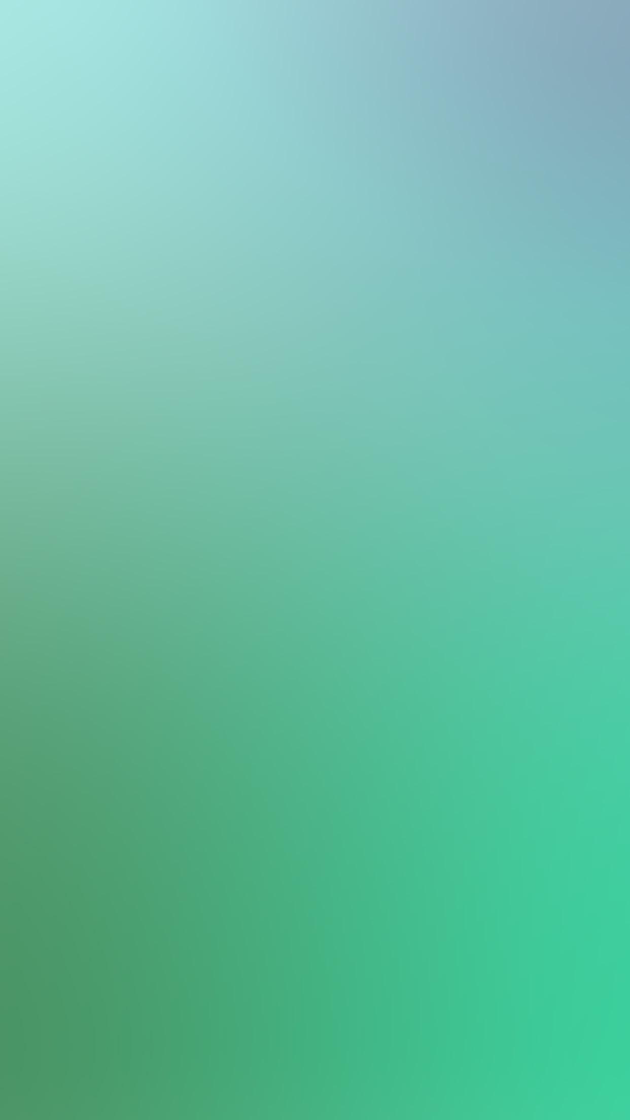 Sk03 Blue Green Soft Blur Gradation