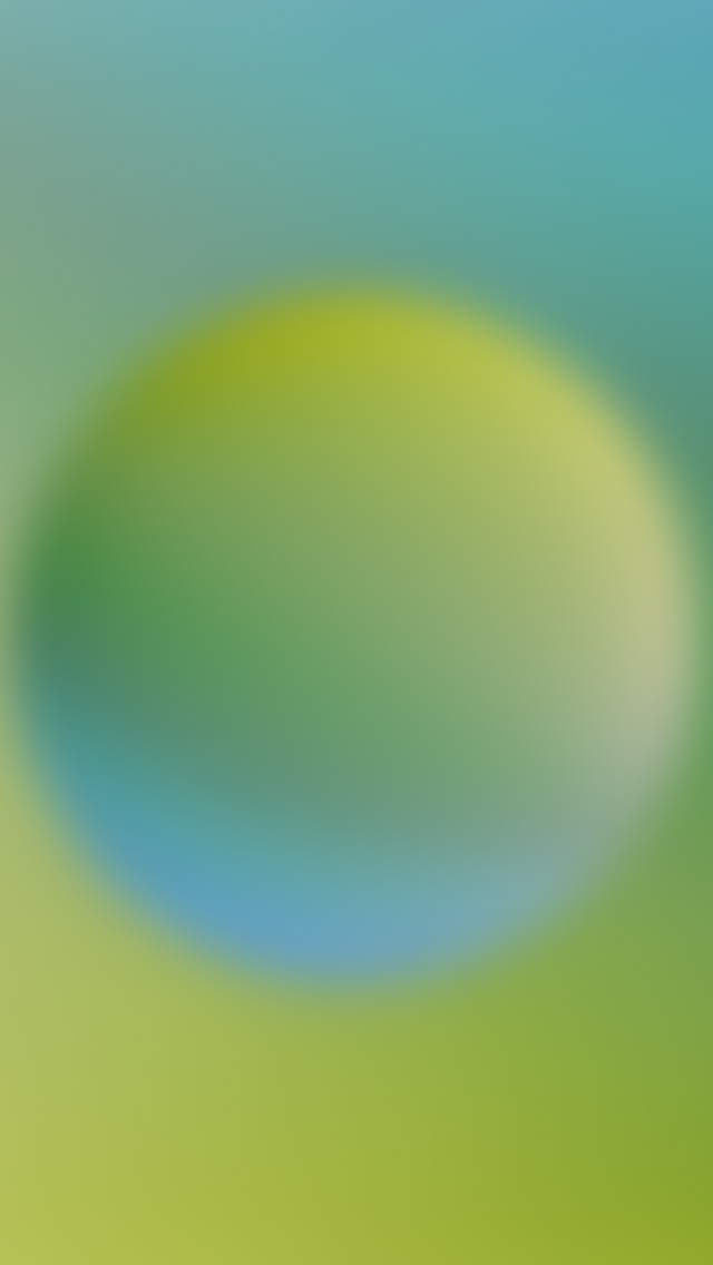 freeios8.com-iphone-4-5-6-plus-ipad-ios8-sk67-green-circle-blur-gradation